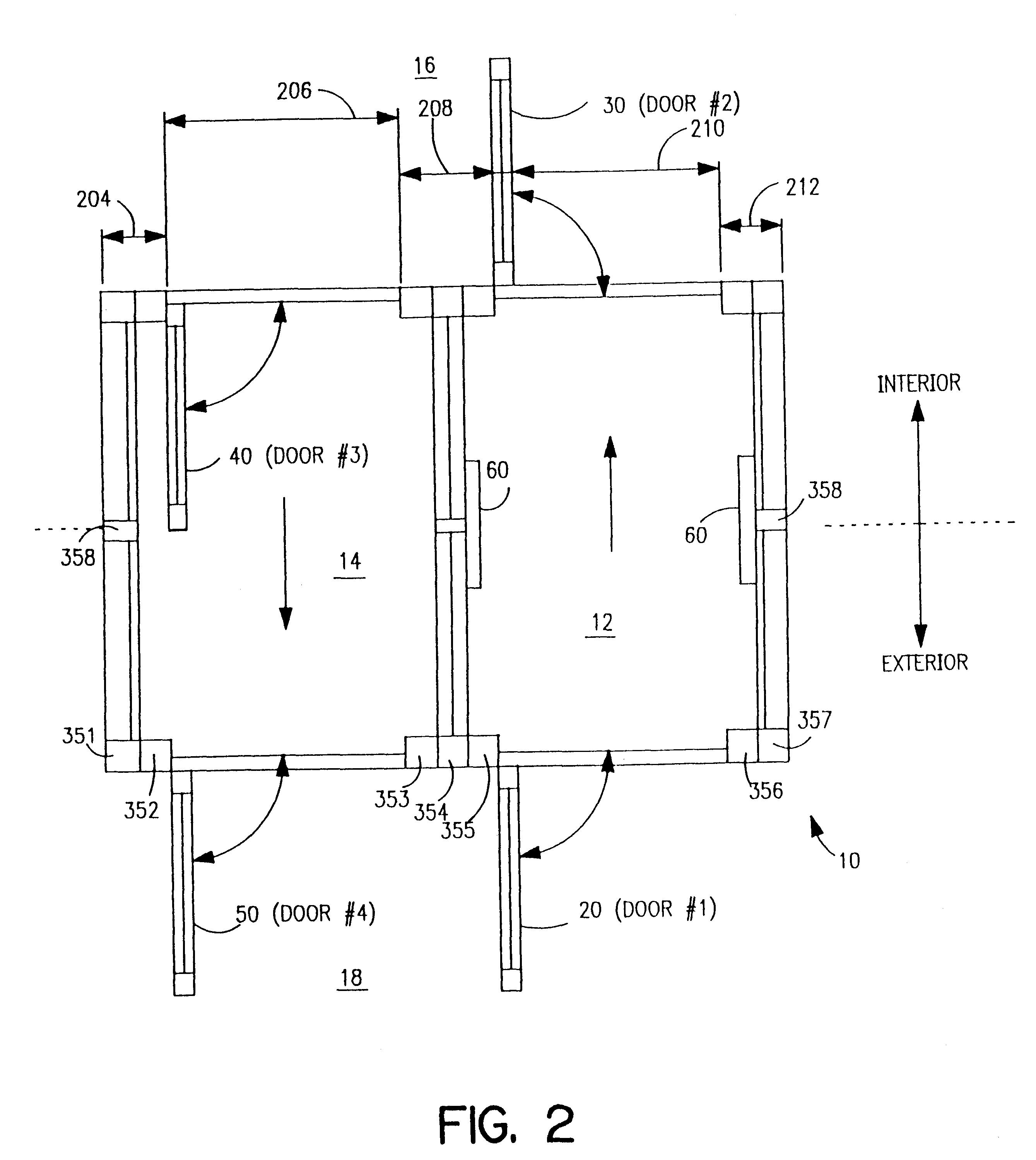 patent us6298603 - access control vestibule