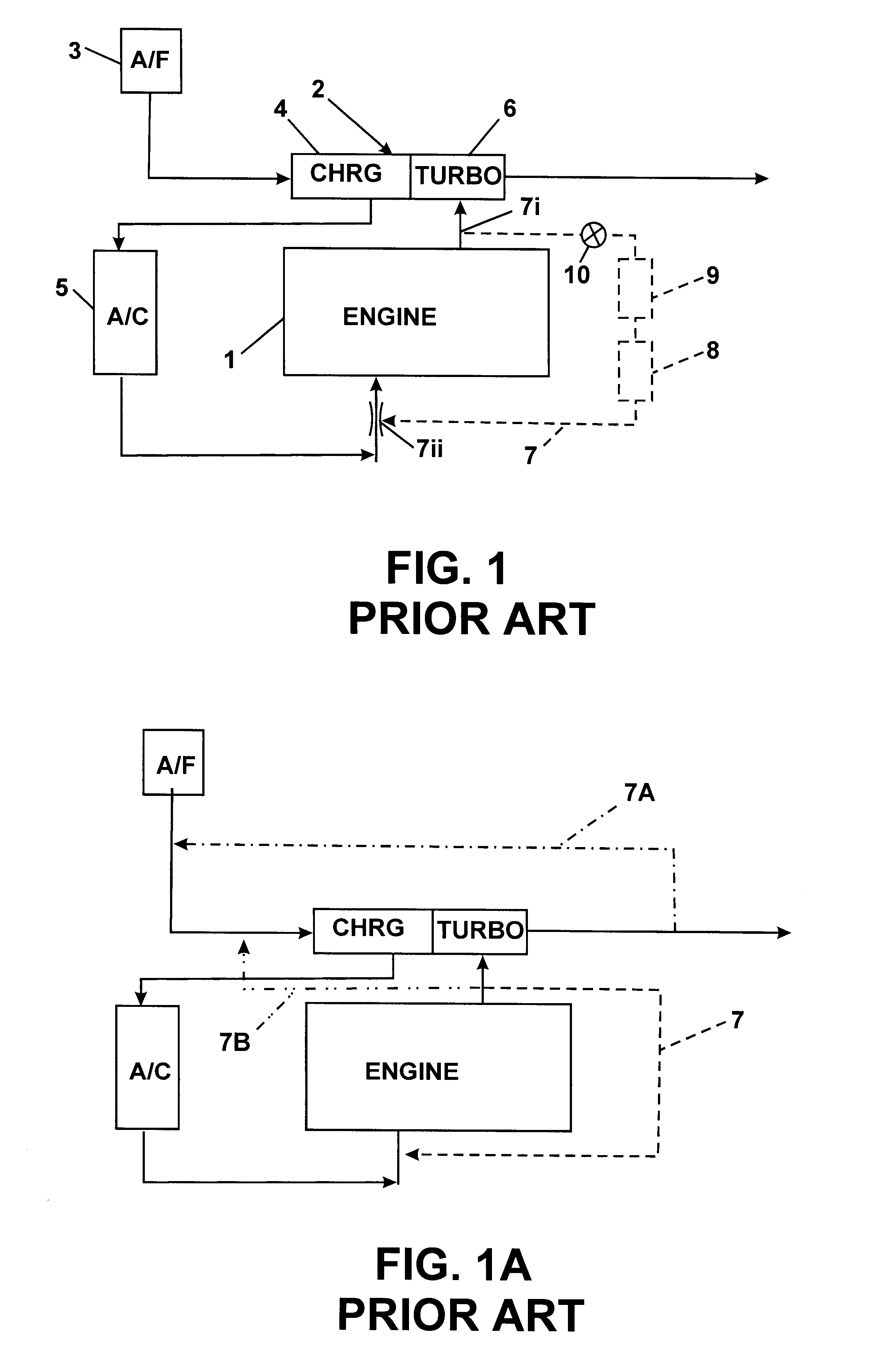 Patent Us6301887 Low Pressure Egr System For Diesel Engines Valve Line Ford E 250 2001 4 2 Drawing