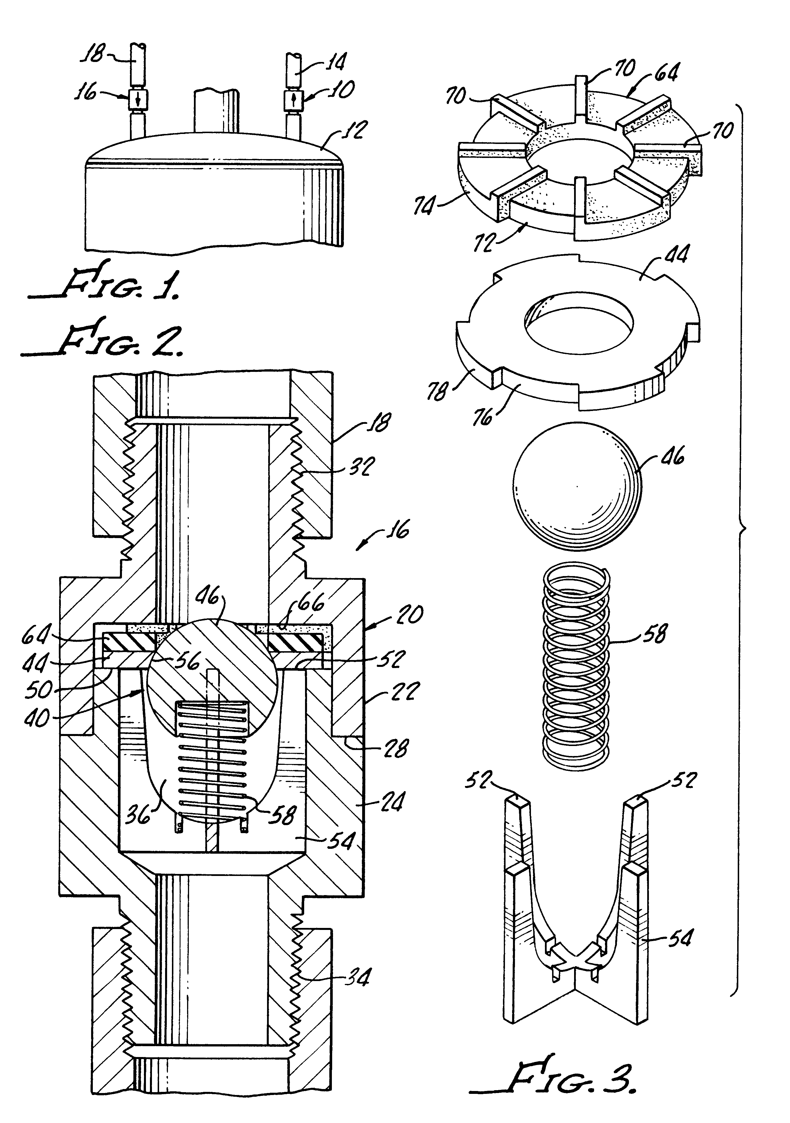 patent us6302063 - water heater heat trap with pressure relief assembly