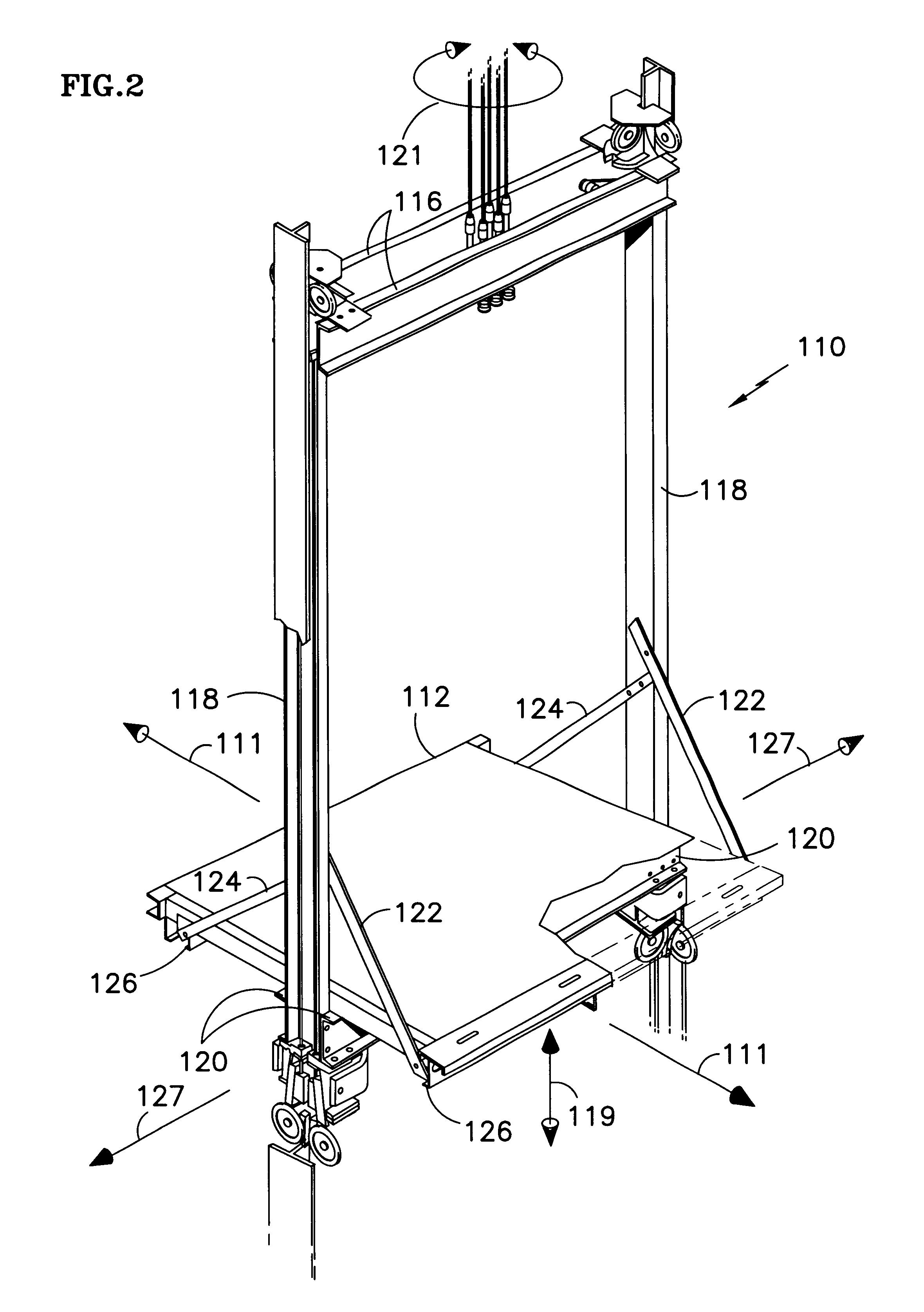 patent us6305502 - elevator cab floor acceleration control system