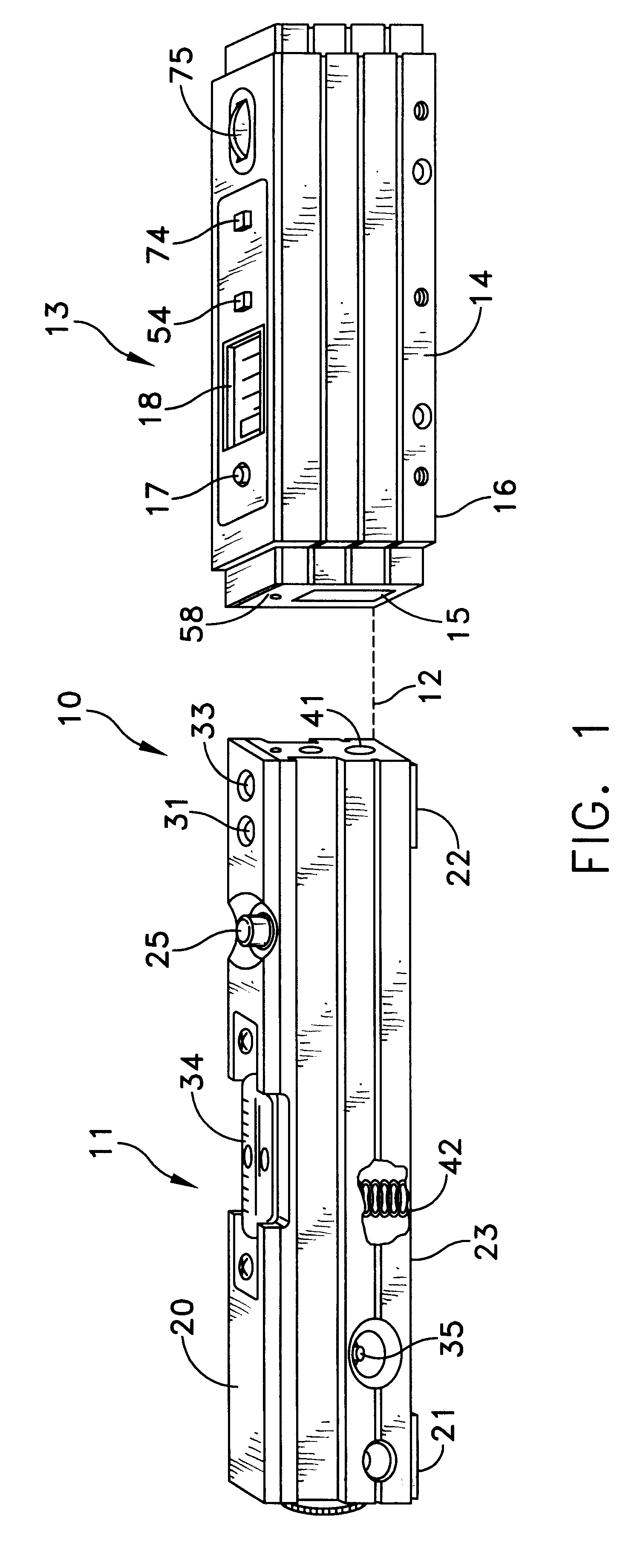 patent us6308428 - laser alignment system