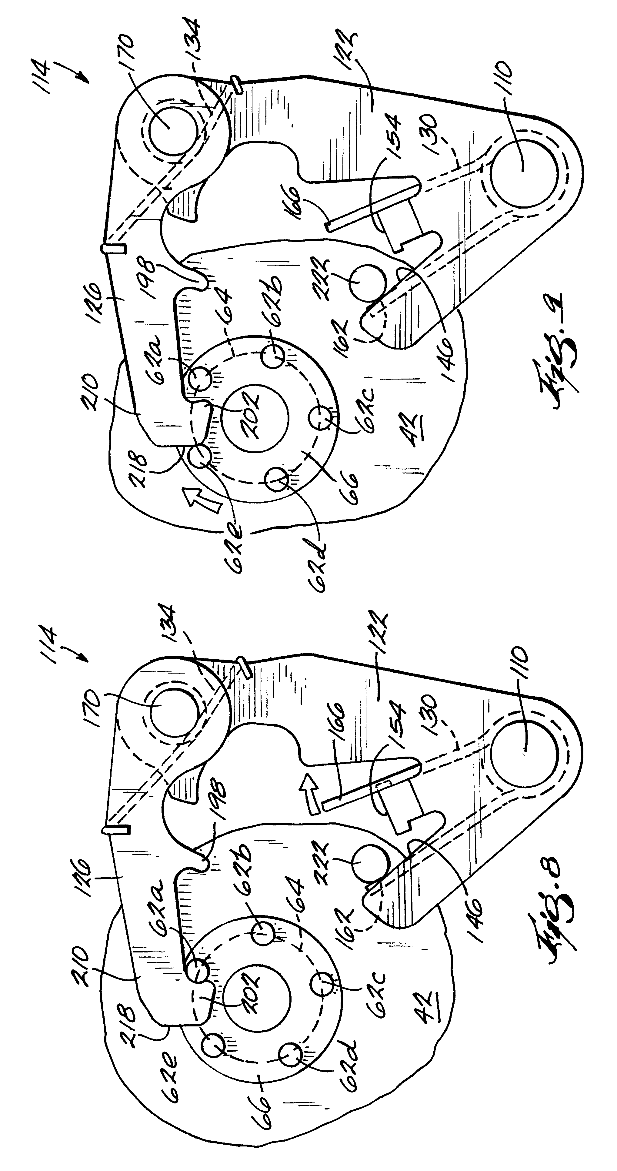 patent us6308797 motorcycle transmission shifter mechanism