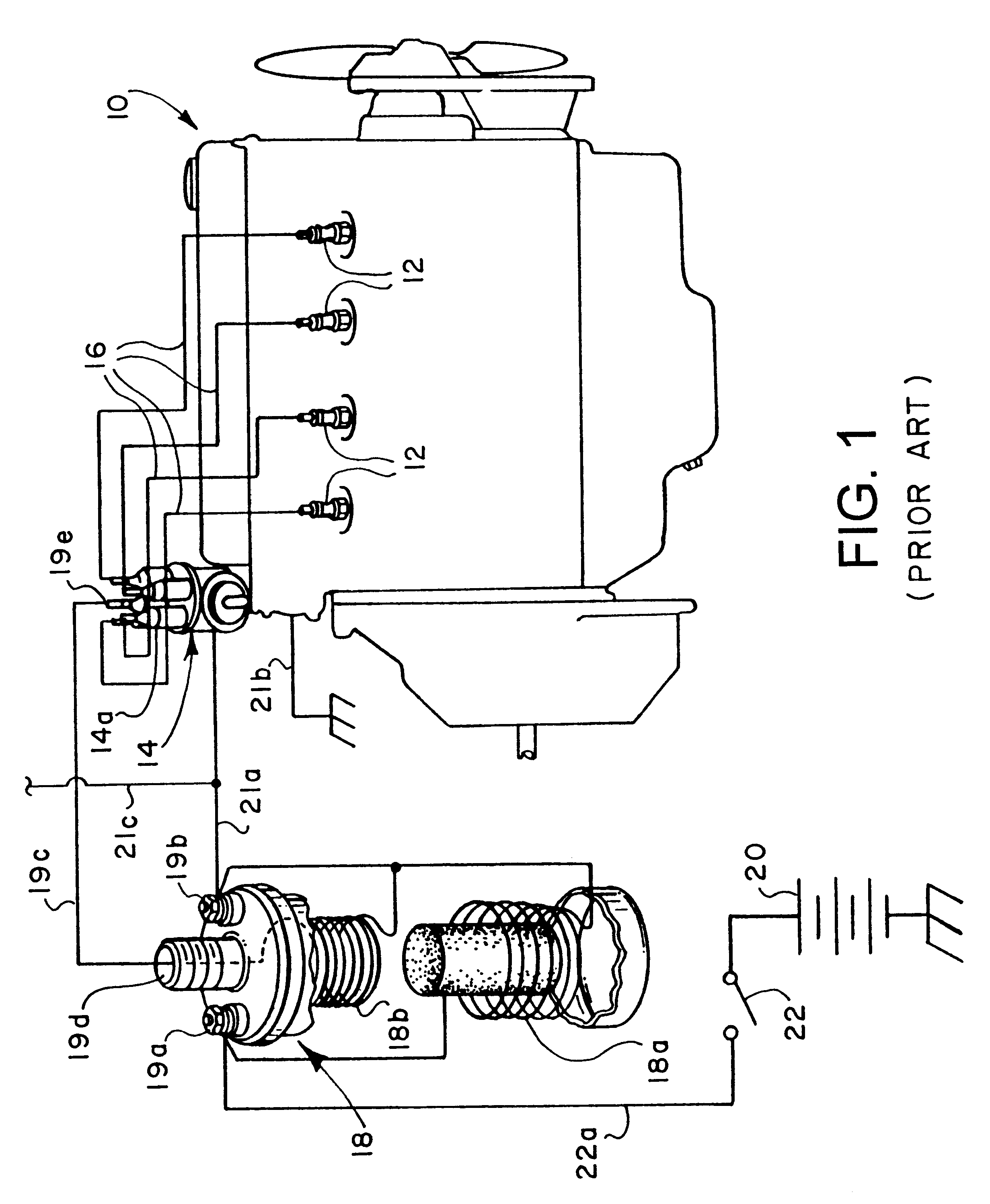 patent us6311664 ignition coil output pulse controlled power patent drawing