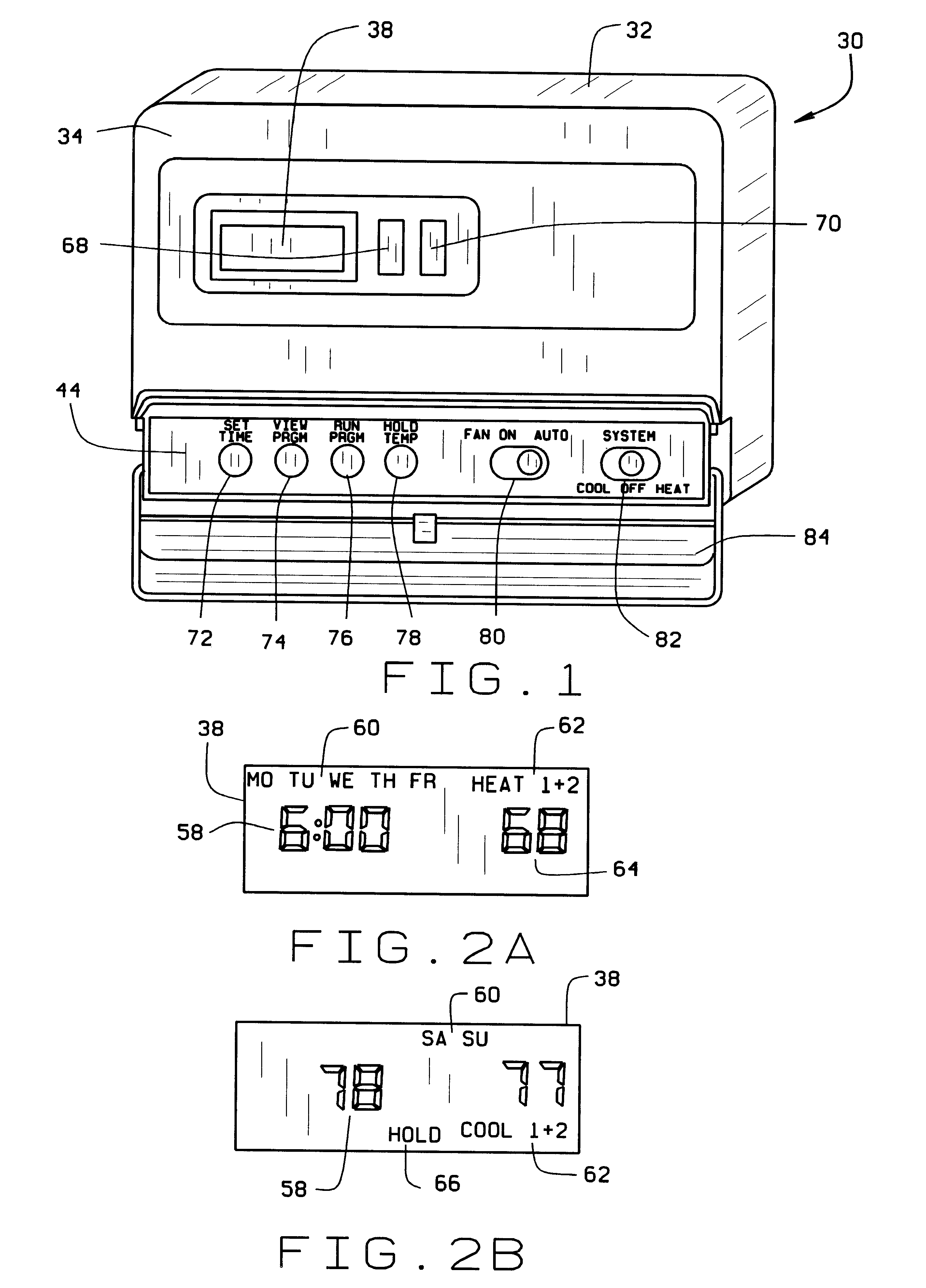 US06315211 20011113 D00001 patent us6315211 hardwired or battery powered digital thermostat columbus electric thermostat wiring diagram at webbmarketing.co