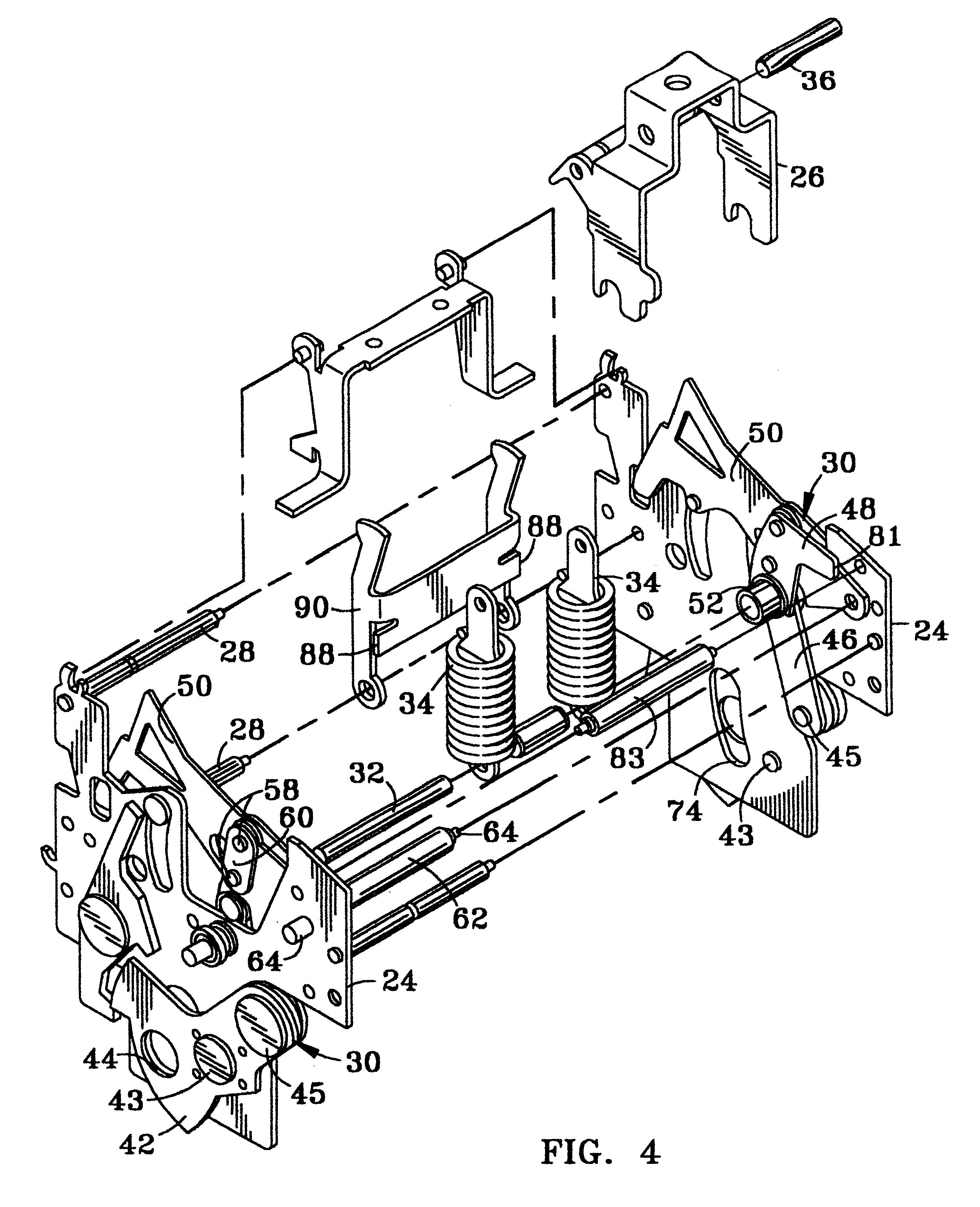 patent us6317018 - circuit breaker mechanism