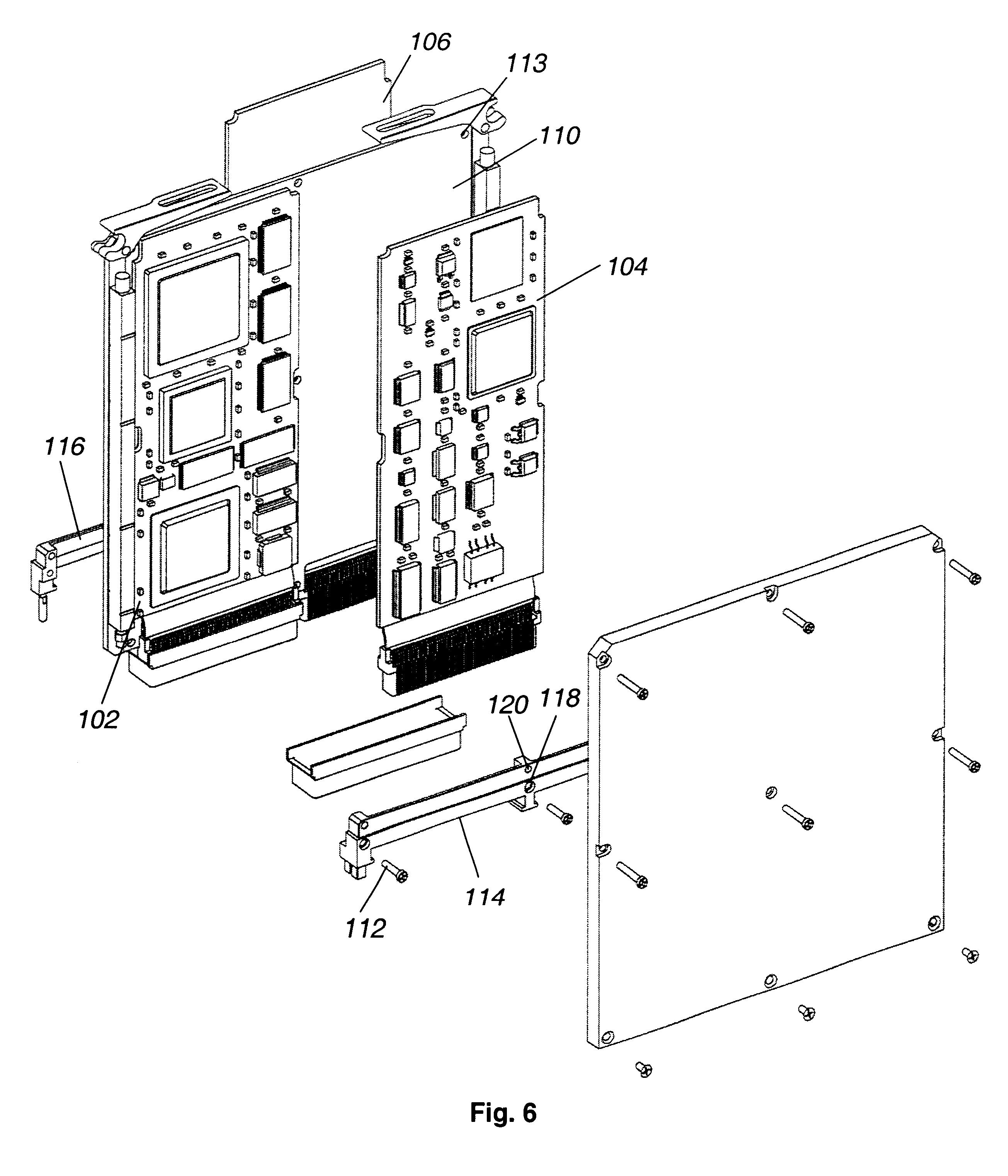 patent us6320750 - sub-modular configurable avionics