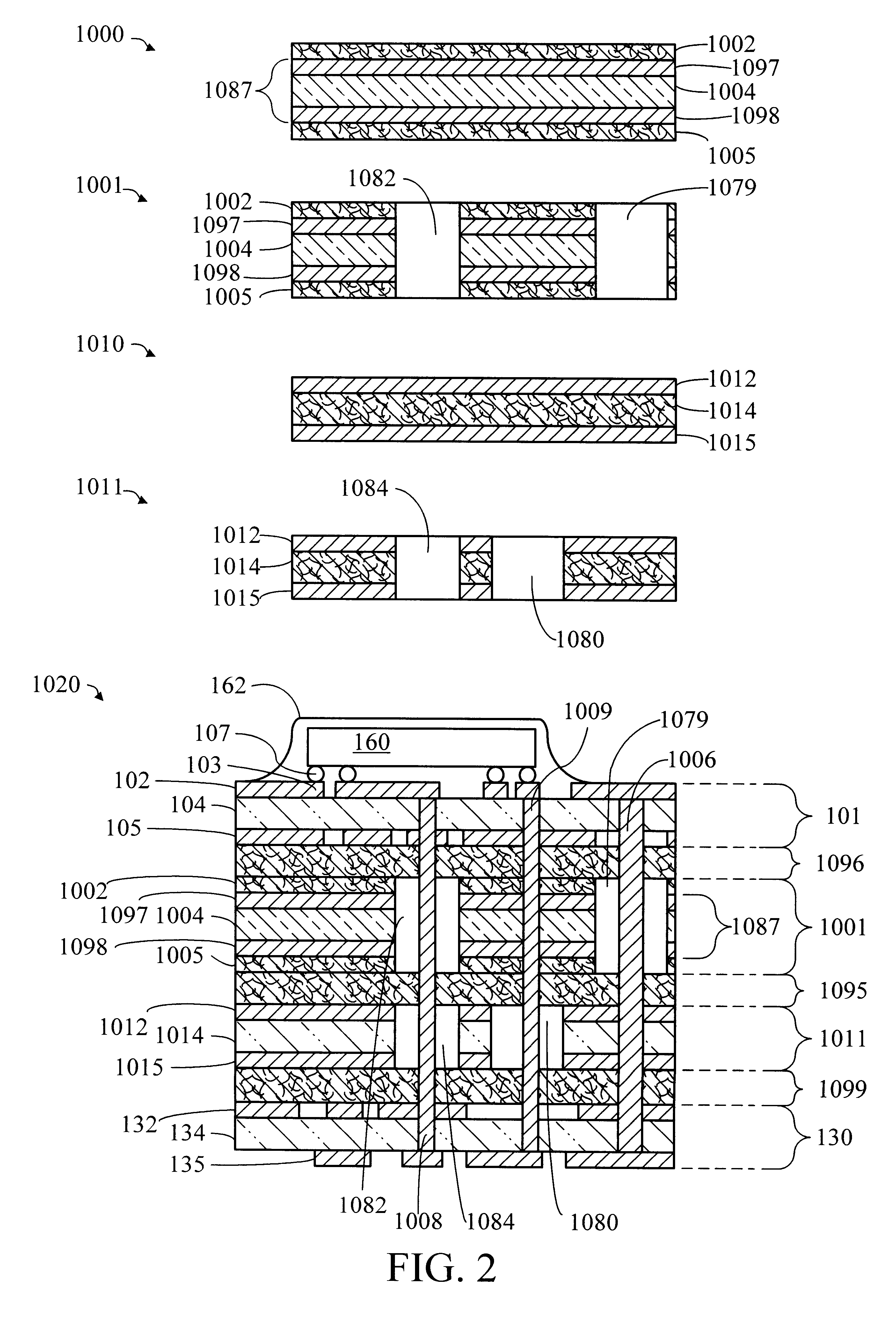 Patent Us6329603 Low Cte Power And Ground Planes