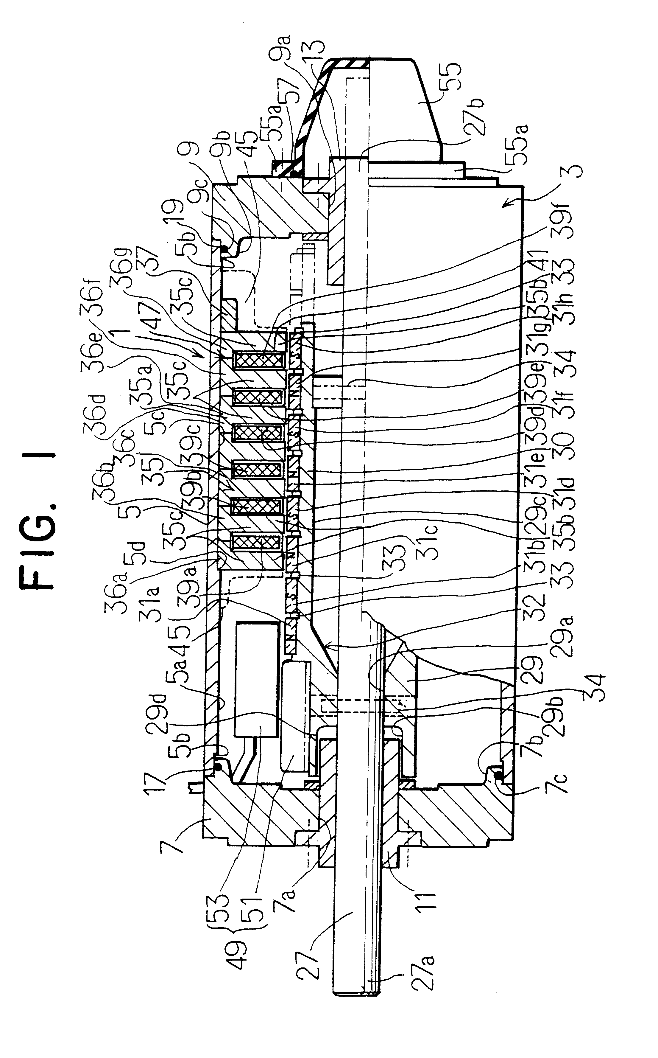 Patent Us6329728 Cylinder Type Linear Synchronous Motor