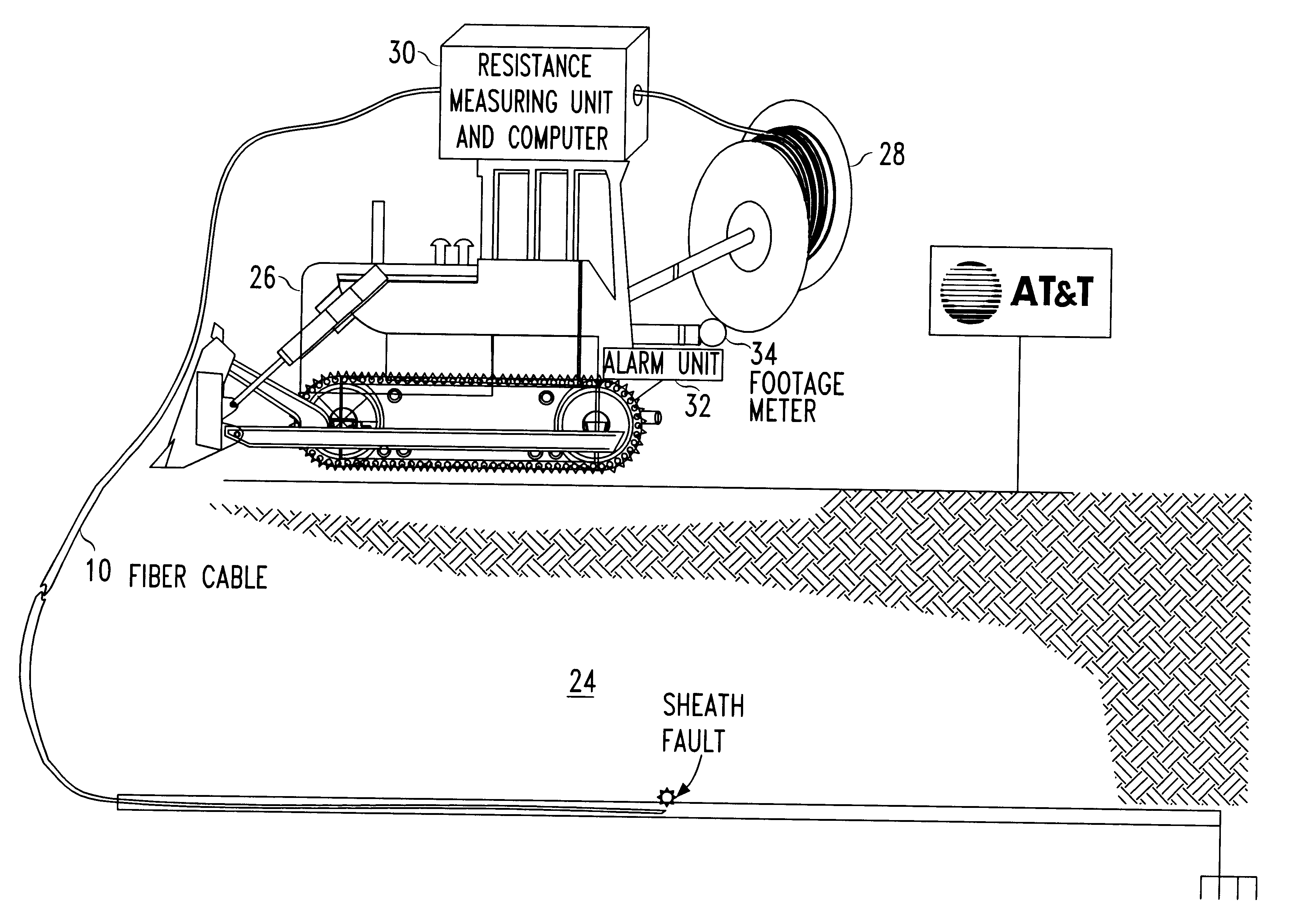 Apparatus And Method For Installing Cable : Patent us fiber optic cable installation method