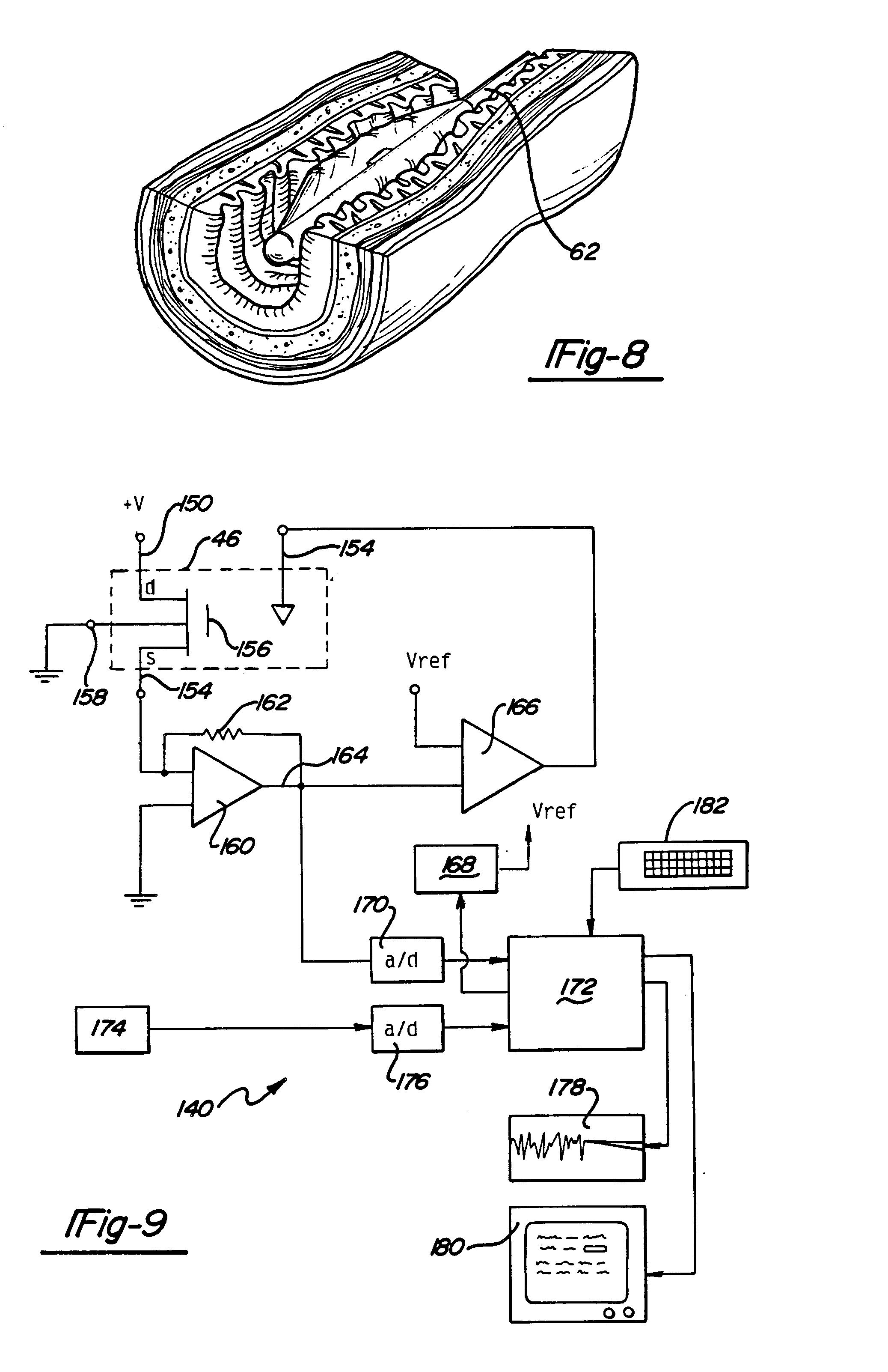 patent us6334064 - remote sensing tonometric catheter apparatus and method