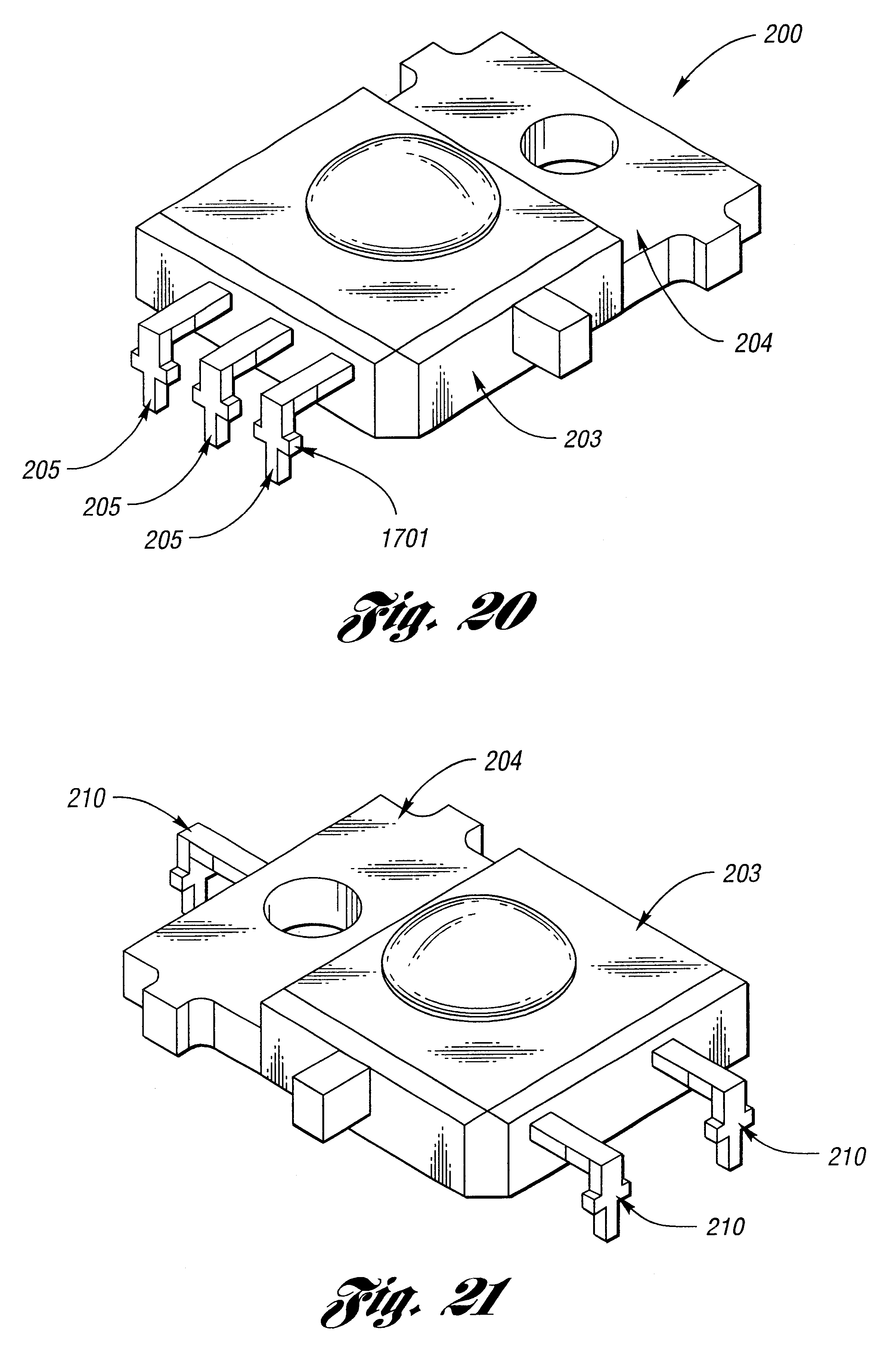Patent Us6335548 Semiconductor Radiation Emitter Package Google Caterpillar 302 5 Wiring Diagram Drawing