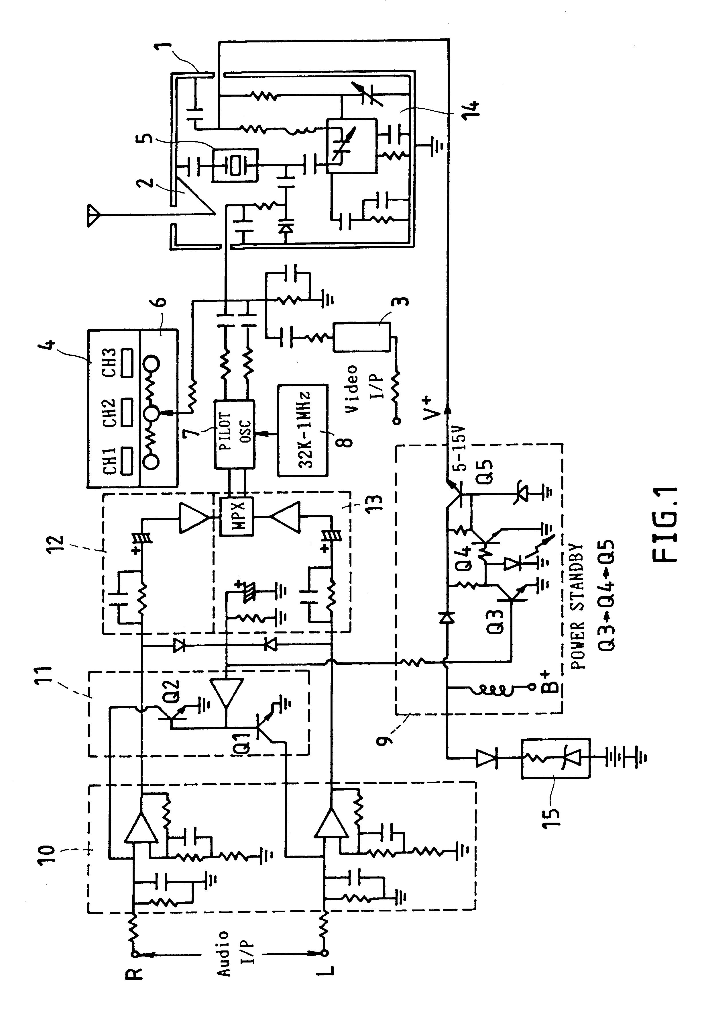 patent us6337913  receiver circuit system with floating frequency tracing