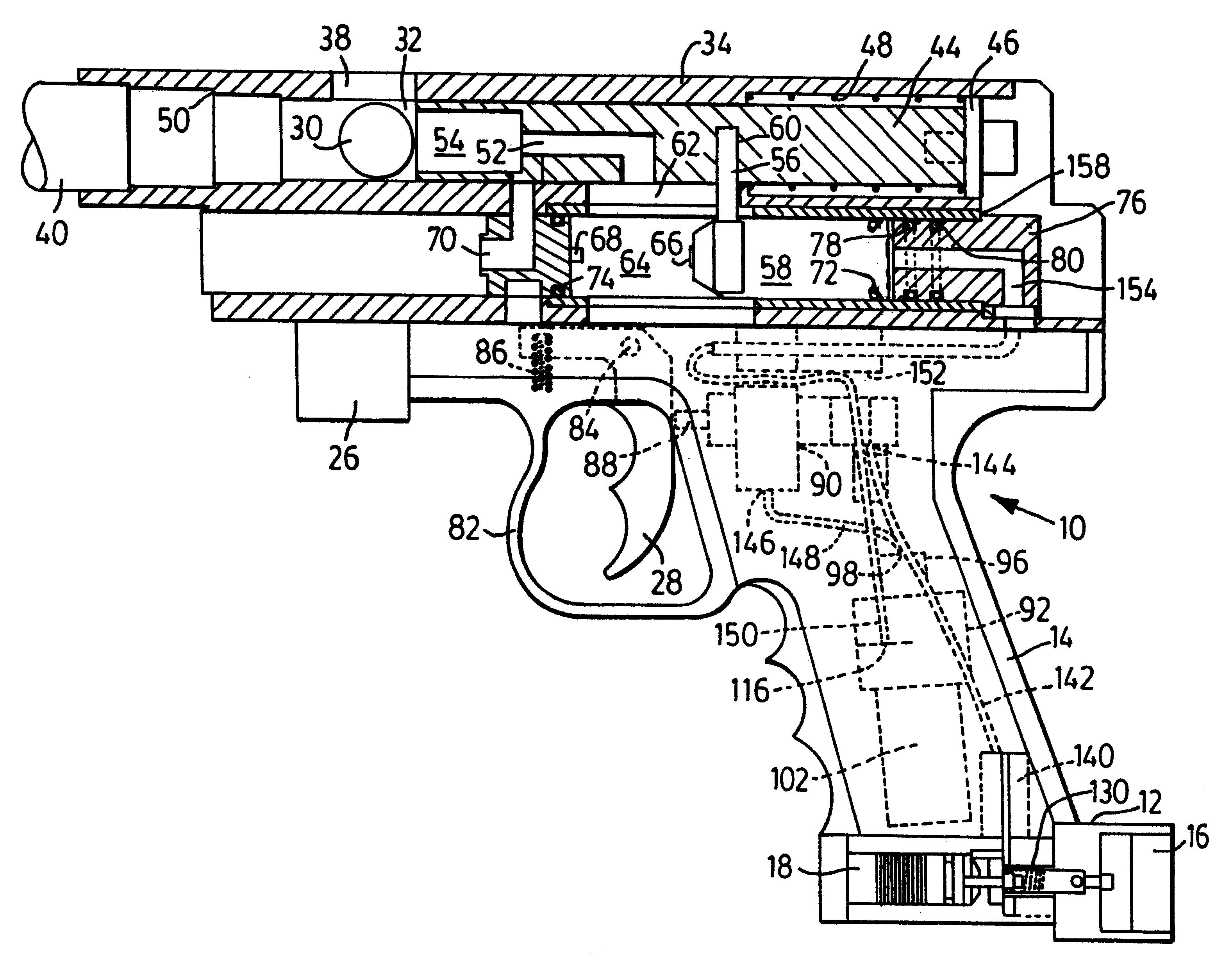 Firing Mechanisms For Guns : Patent us paintball gun with pulse valve firing