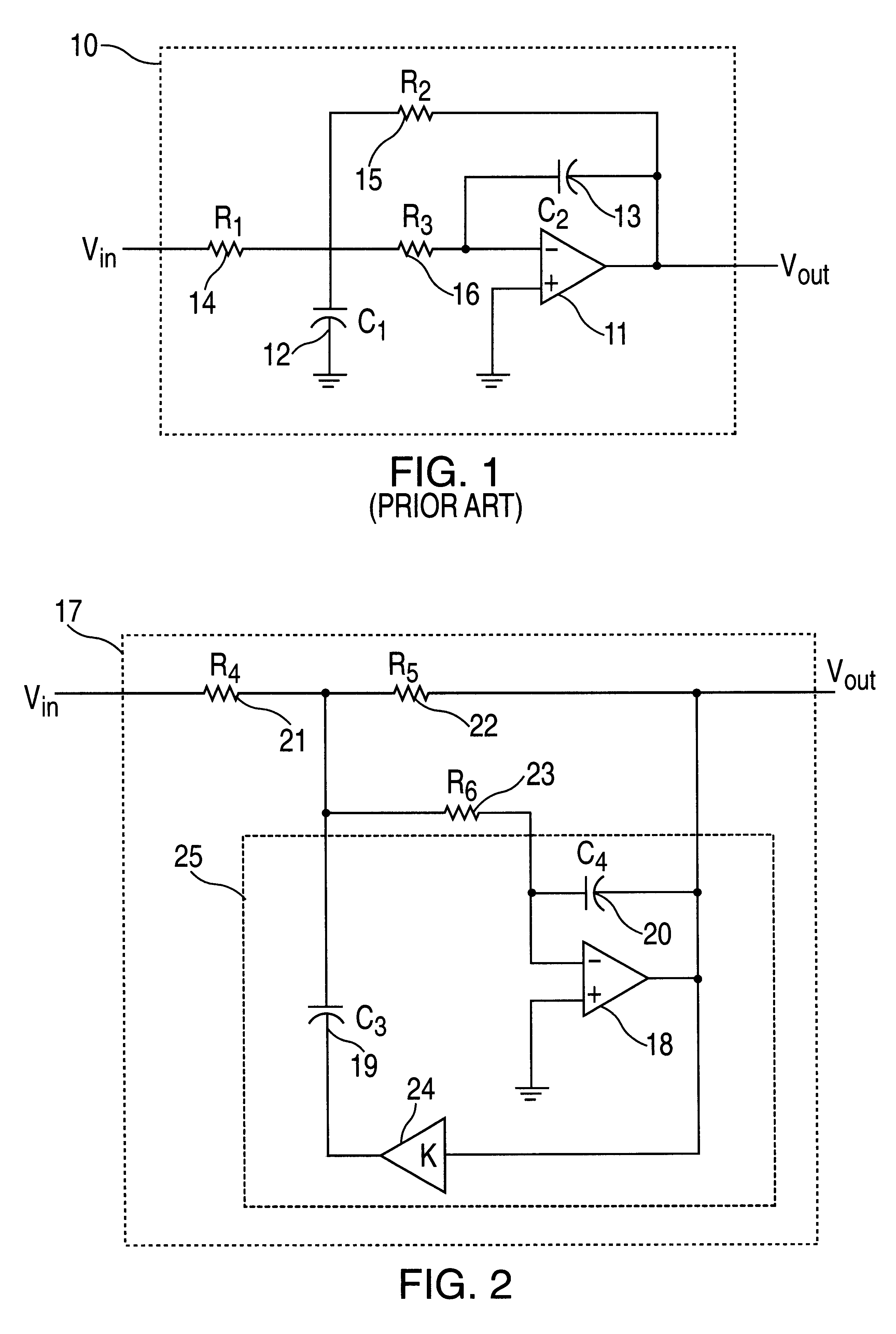 Patent Us6344773 Flexible Monolithic Continuous Time Analog Low Operation Amplifier Lowpass Filter Circuit Lightcontrol Control Drawing