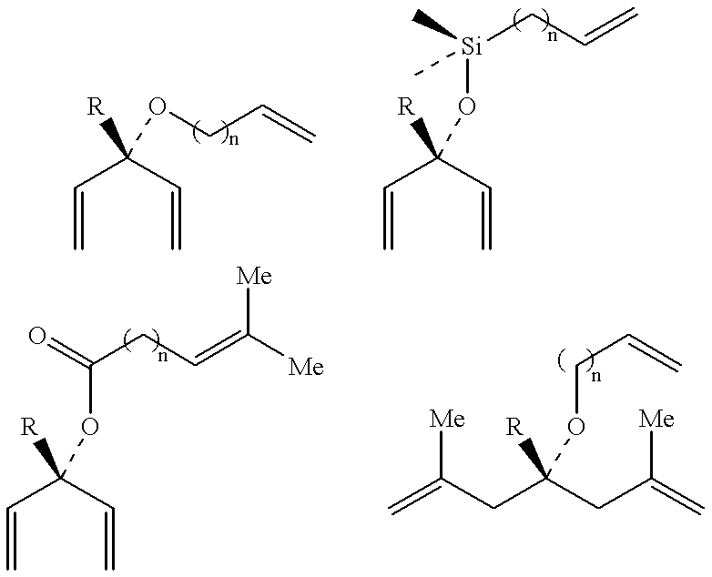 asymmetric metathesis New olefin metathesis methodology for the homologation of terminal olefins to protected α,β-unsaturated aldehydes is described acrolein acetals, including asymmetric derivatives, are robust.