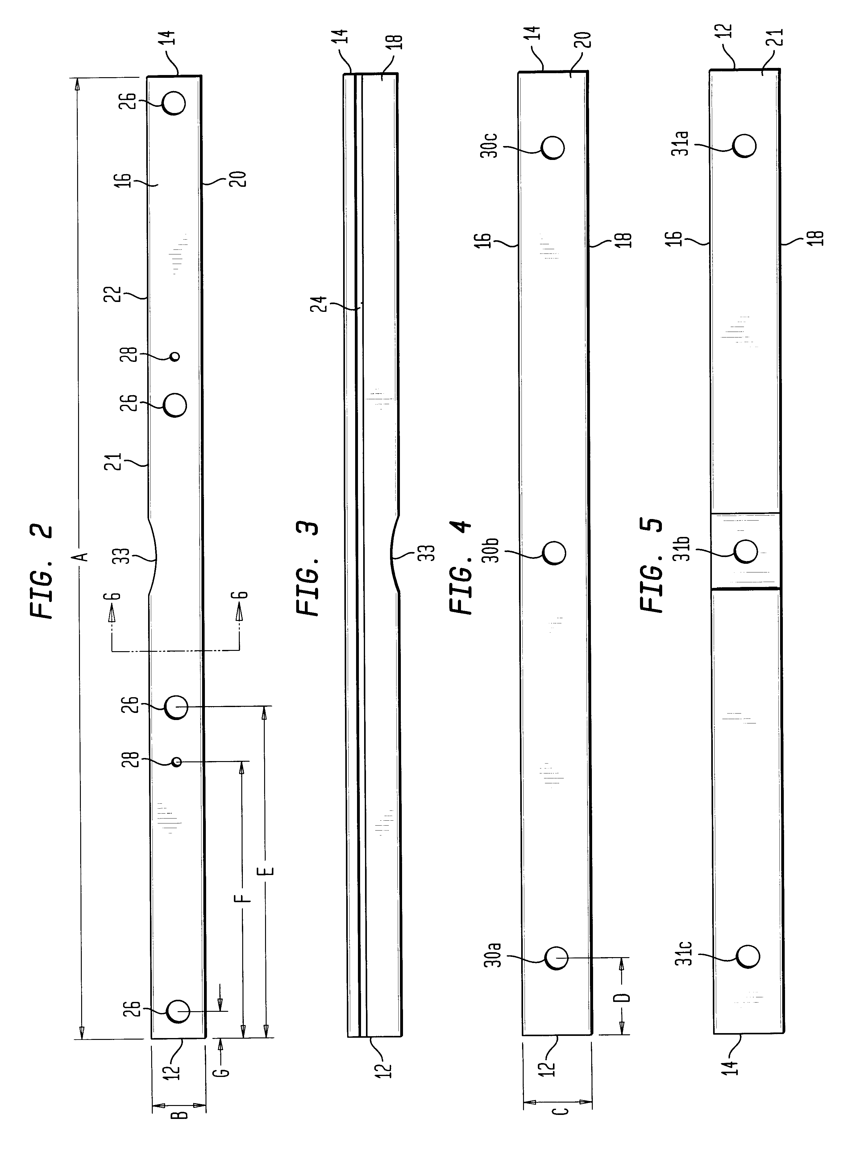 Utility Pole Cross Section Detail : Patent us utility pole cross arm google patents