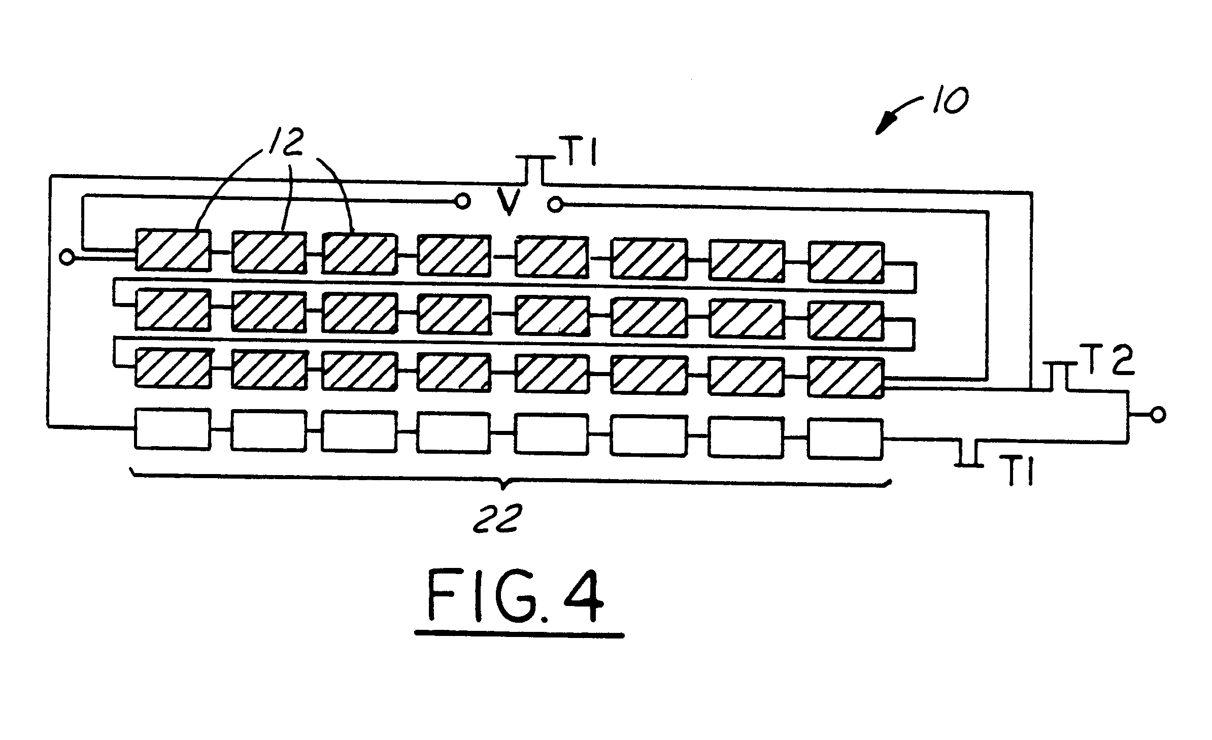 patent us6350944 solar module array with reconfigurable tile