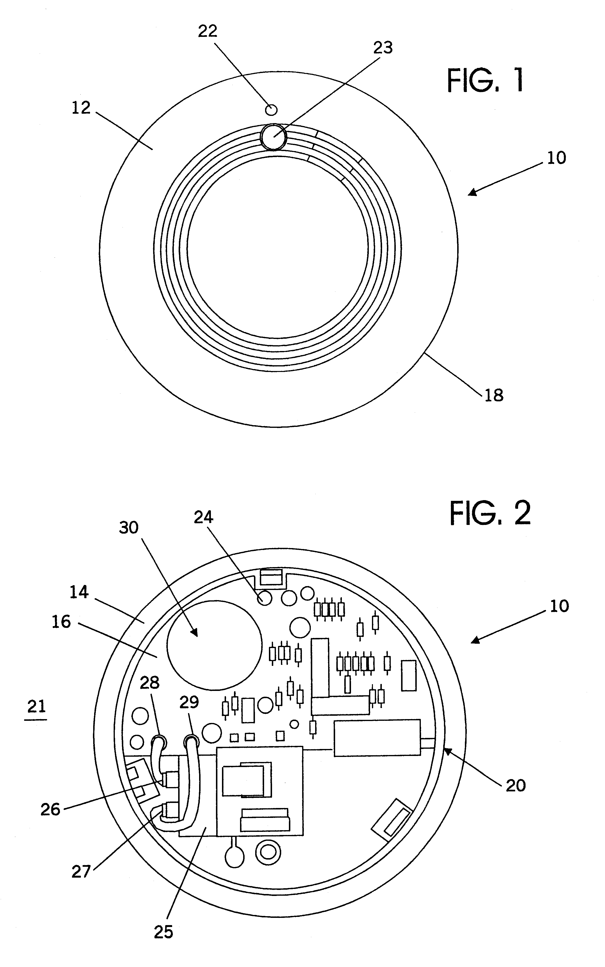 patent us6351219 - photoelectric smoke detector