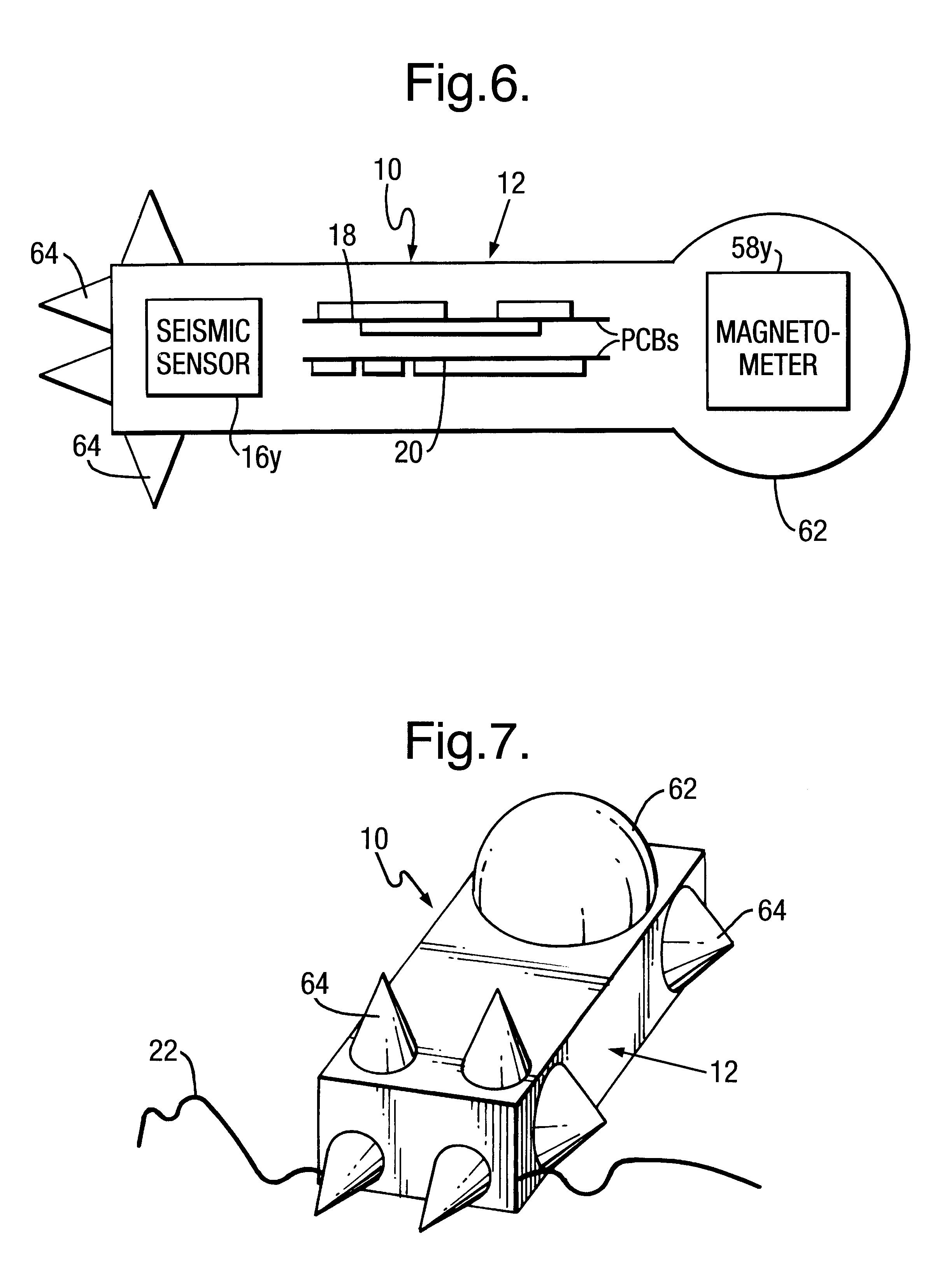 patent us6353577 - seismic sensor units
