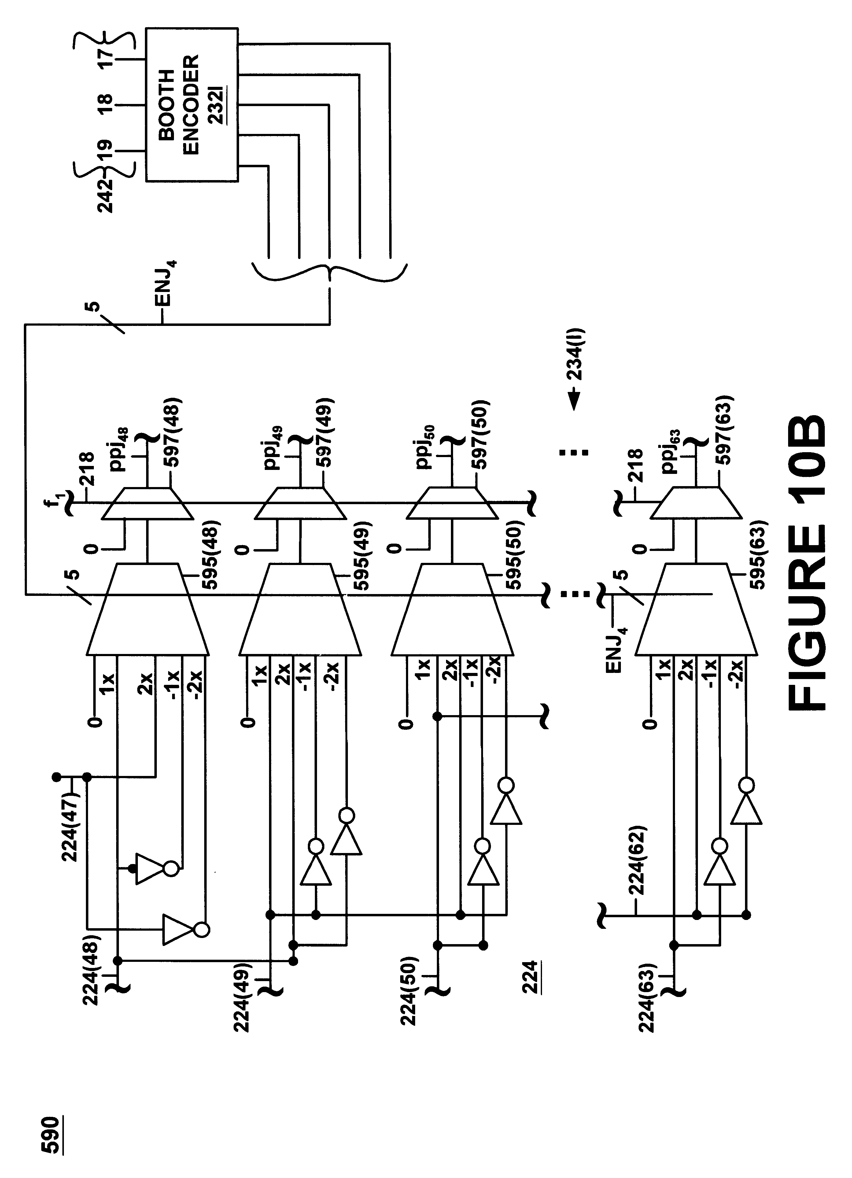 patent us6353843 - high performance universal multiplier circuit