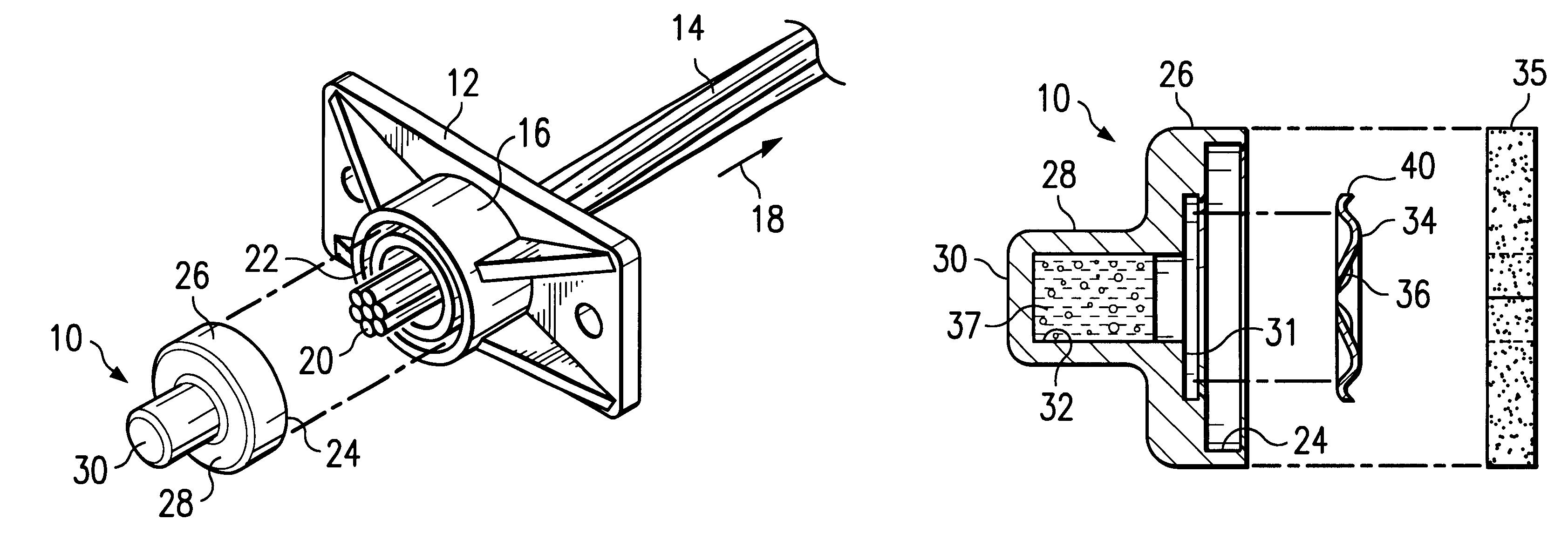 Patent us post tension anchor seal cap google