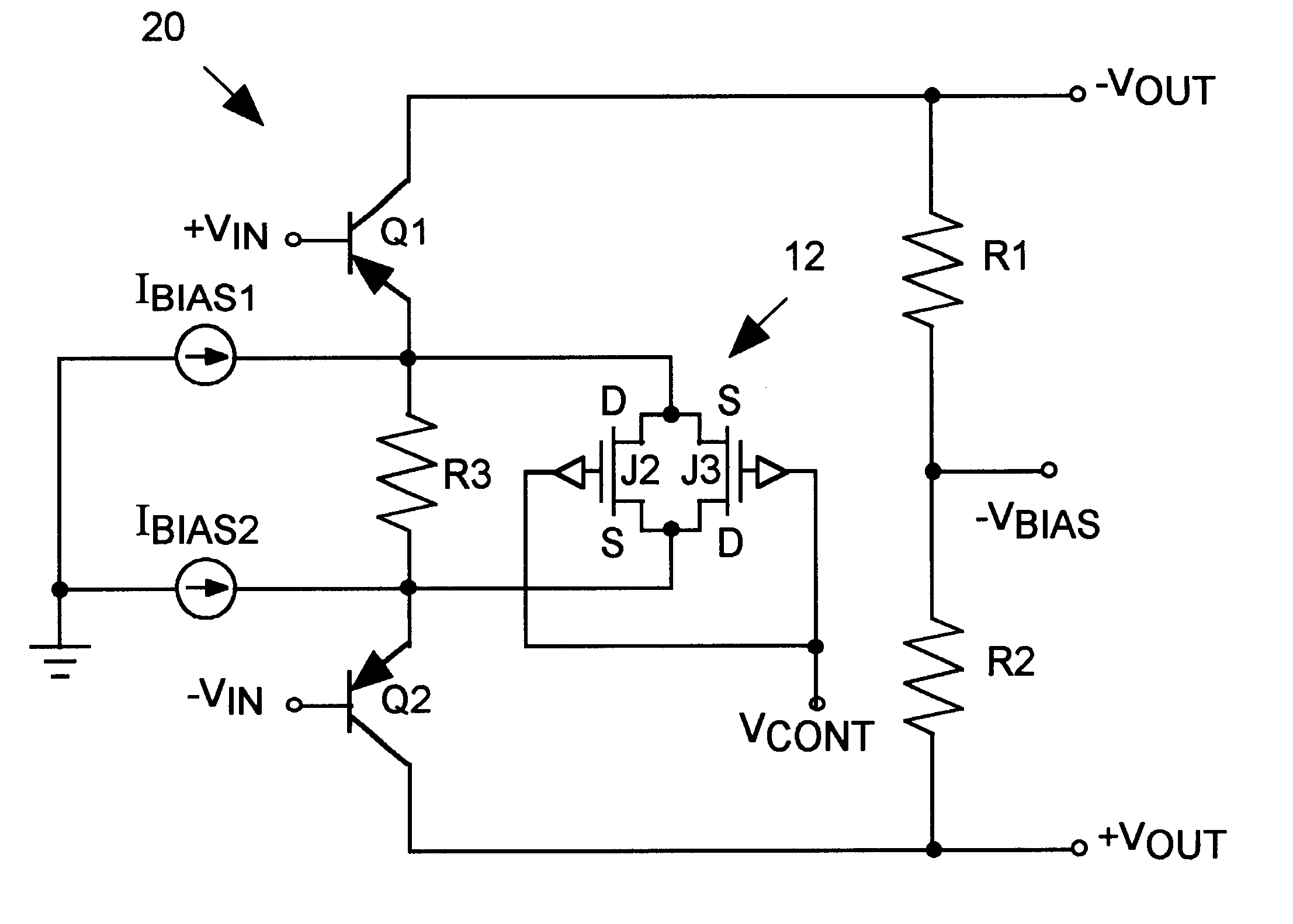 how to find current from a circuit with 4 resistors