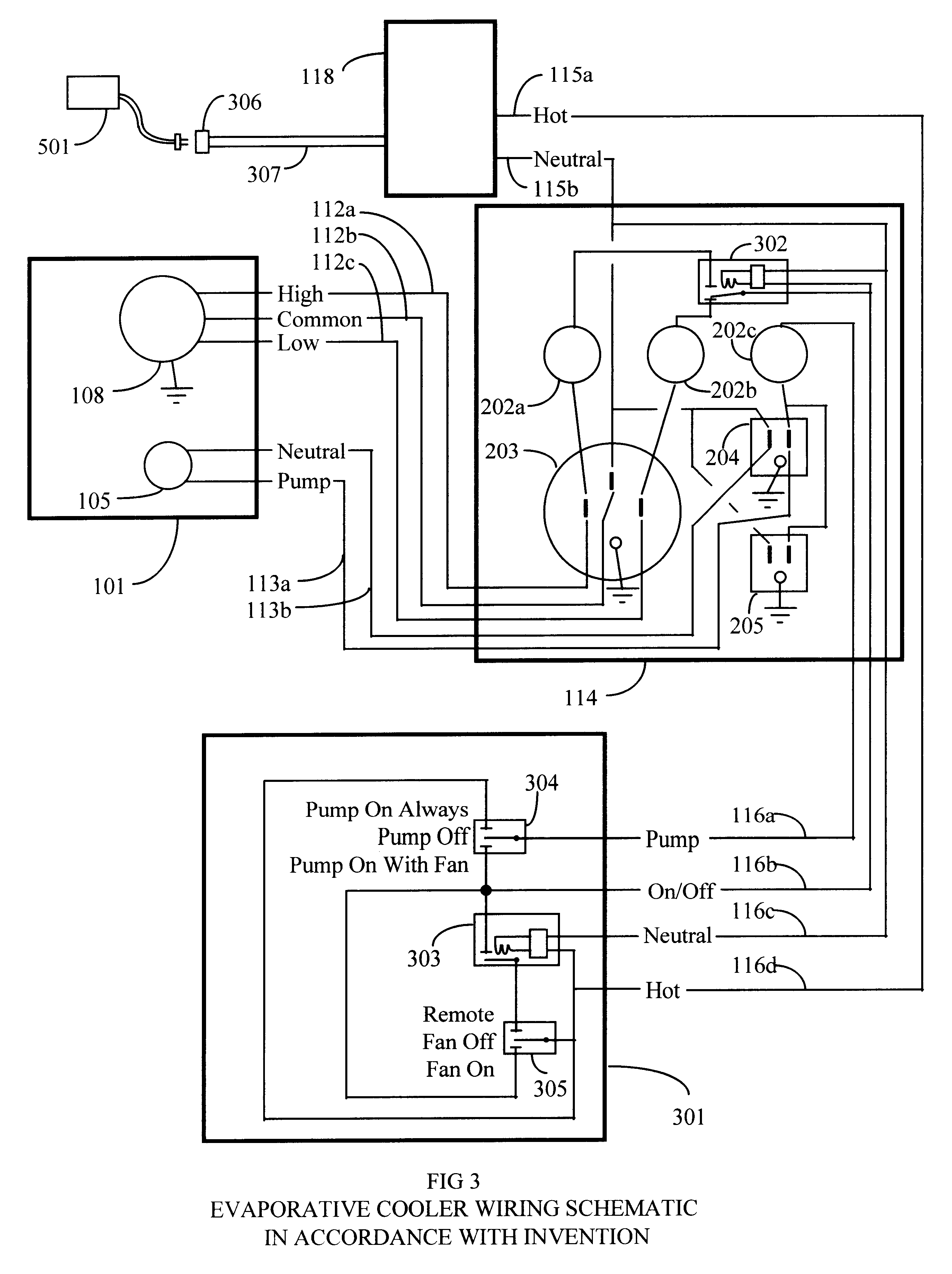 patent us6357243 remote system for evaporative coolers patents