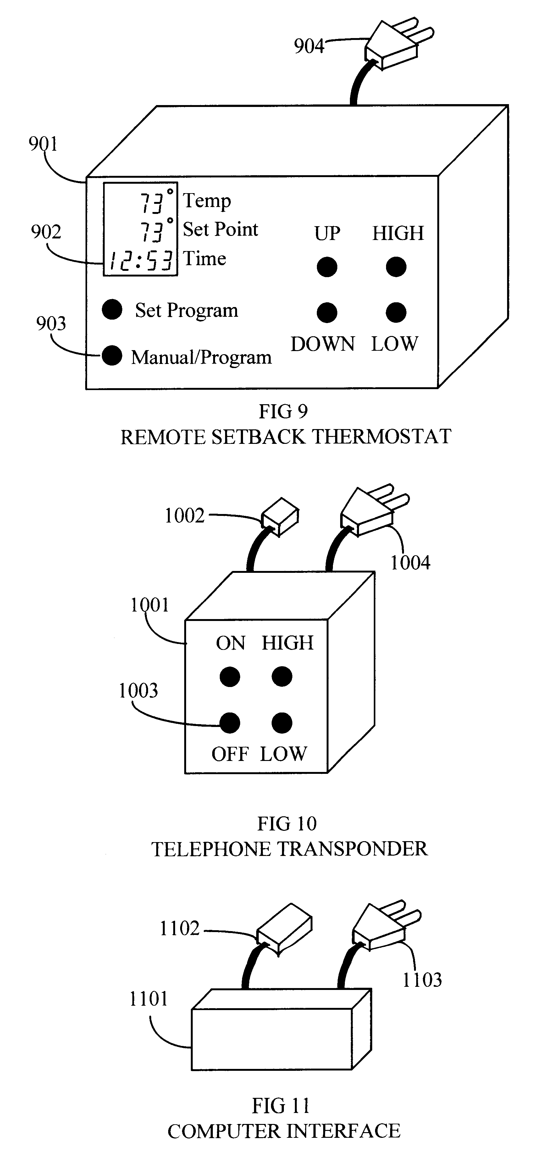 patent us6357243 remote control system for evaporative coolers patent drawing