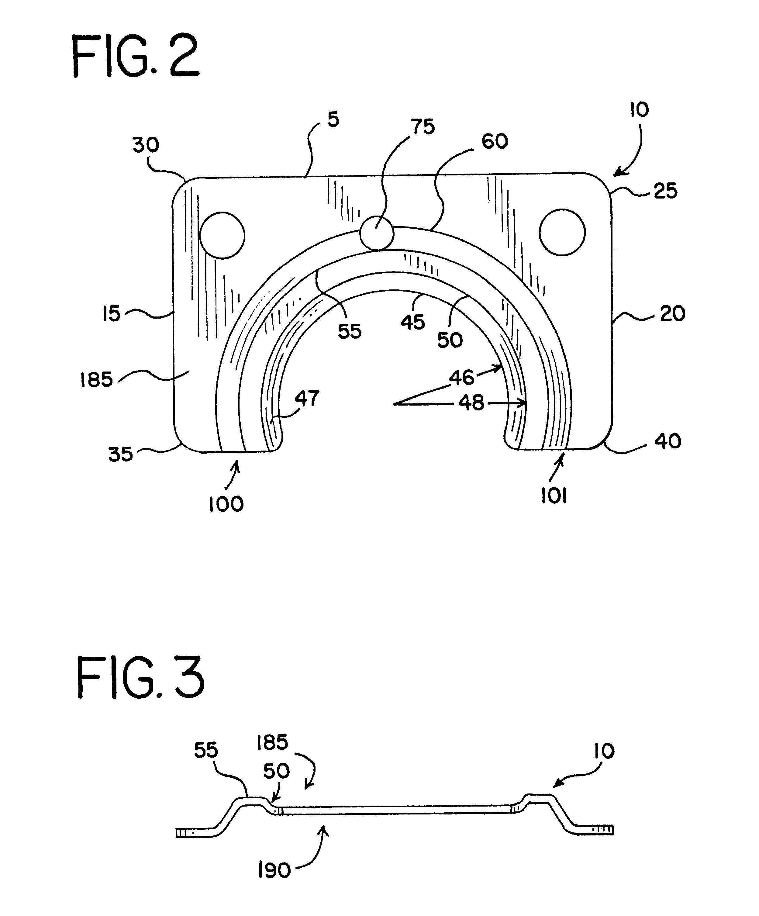 Patent us balance shaft seal clamp google patenten