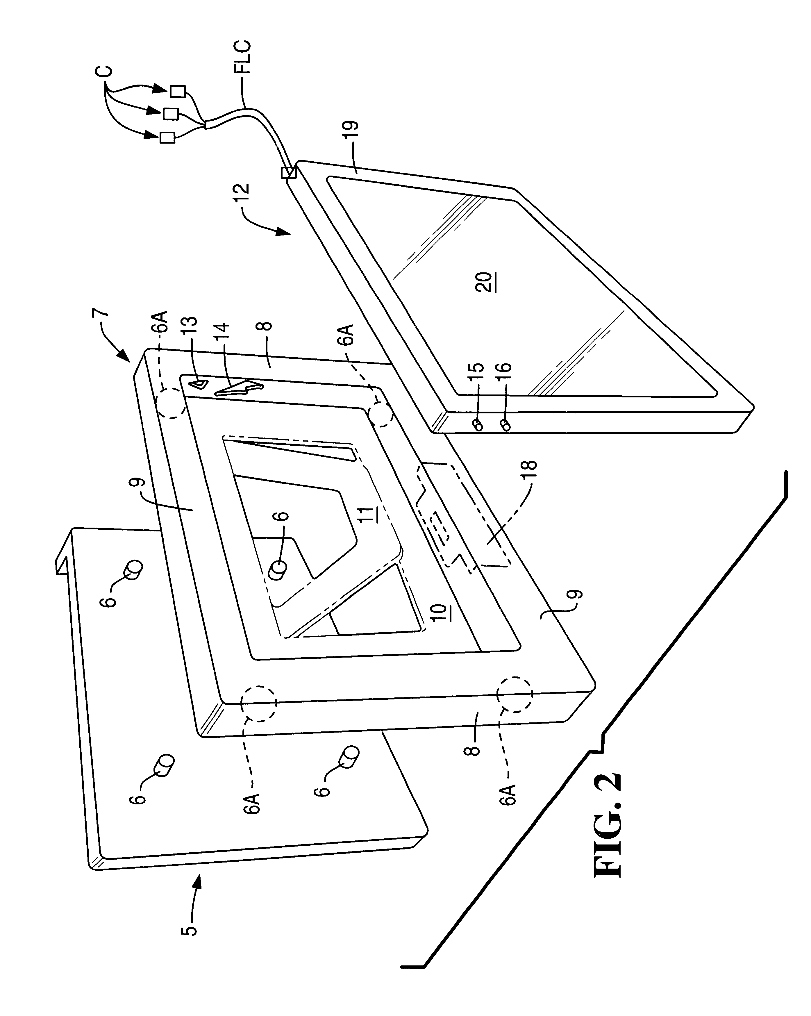 US06359270 20020319 D00002 patent us6359270 communications module mounting for domestic on how to cut template for microwave to fit recessed cabinets