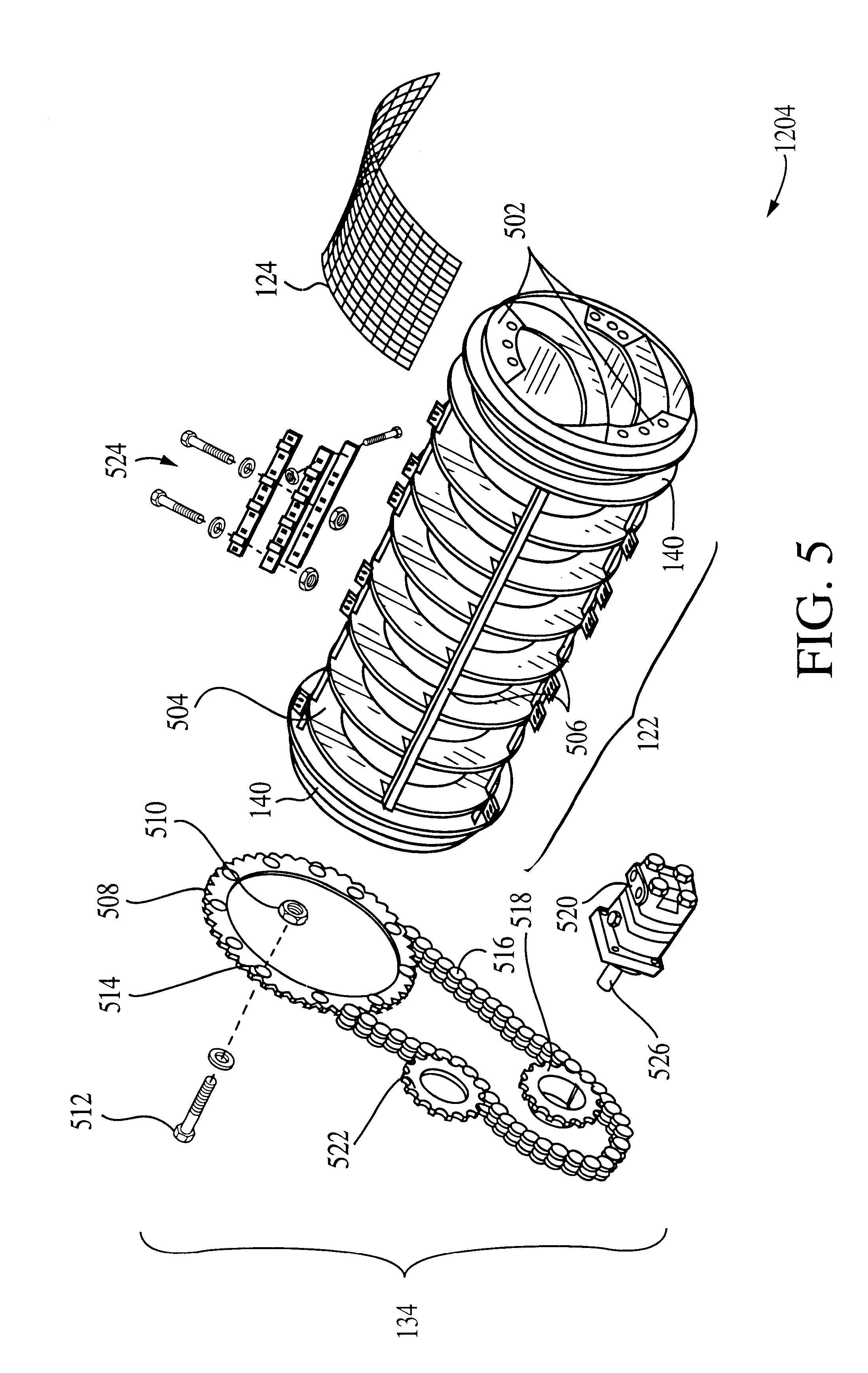 patent us6360894 - double skin trommel