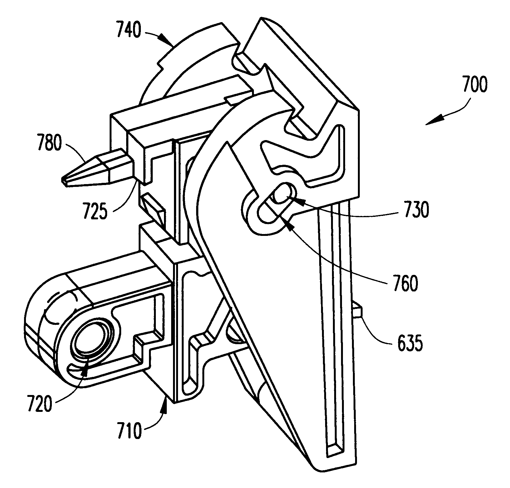 patent us6361335  ejector with board mount and alignment features
