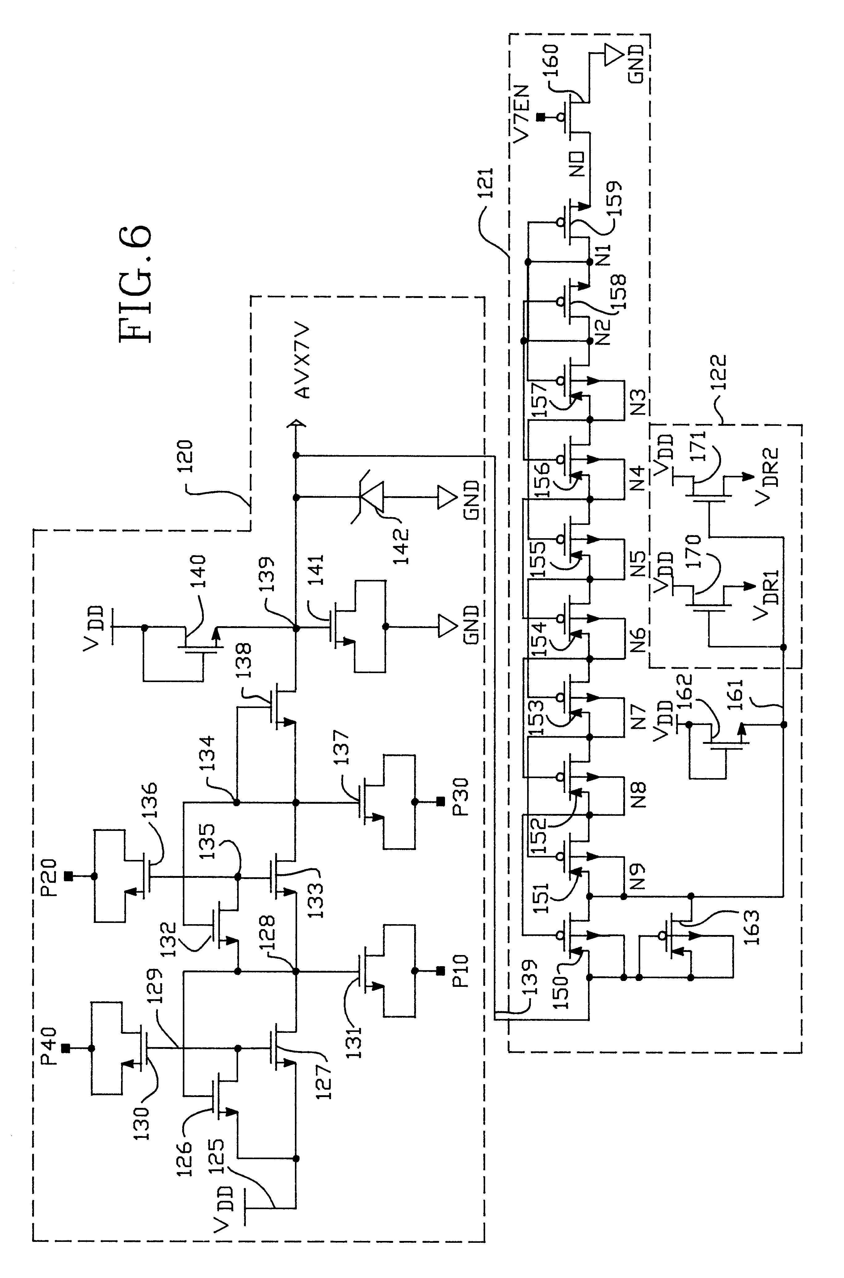 patent us6366519 regulated reference voltage circuit for flash patent drawing