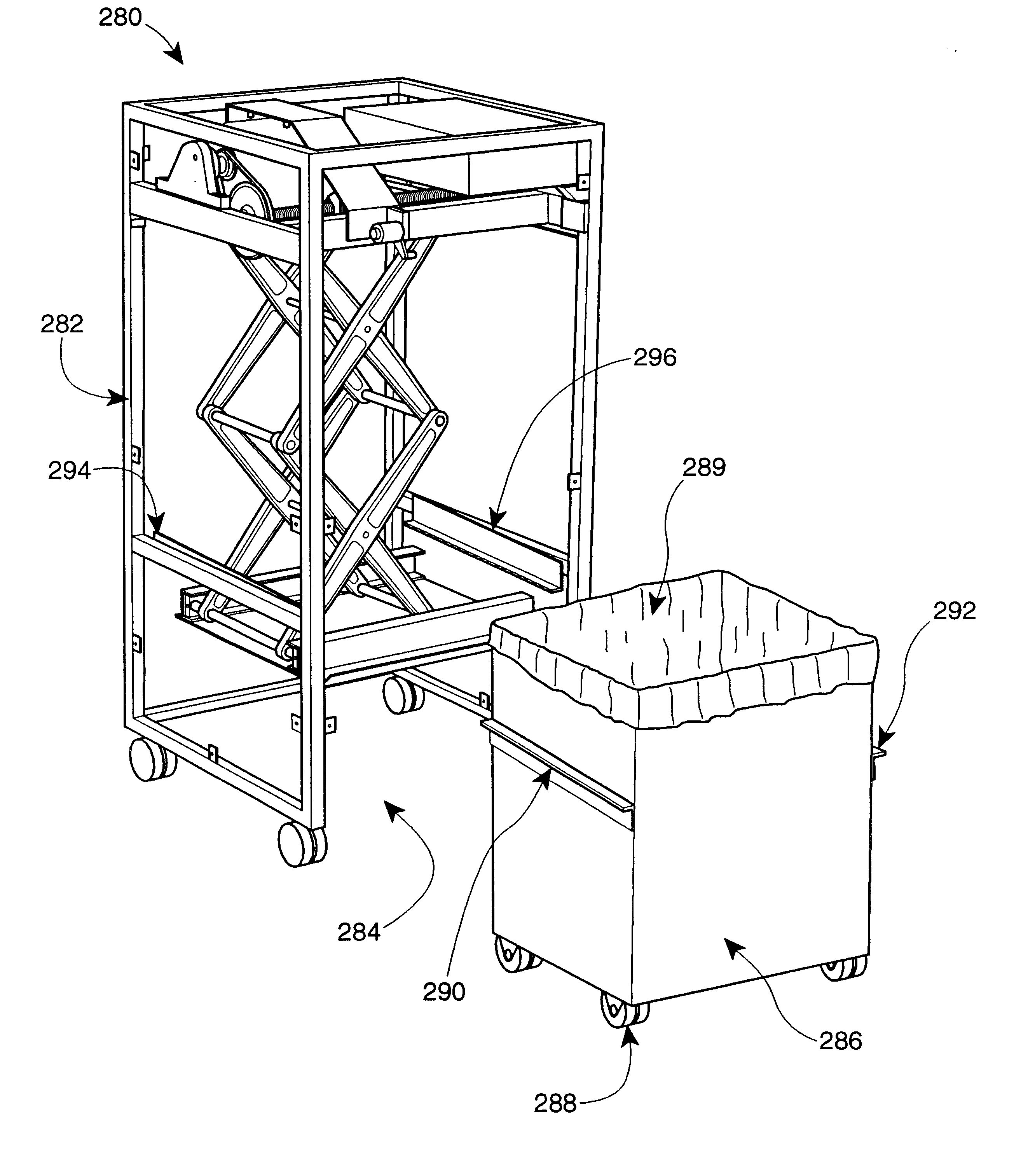 How Does A Trash Compactor Work Patent Us6367377 Level Sensitive Waste Compactor Google Patents