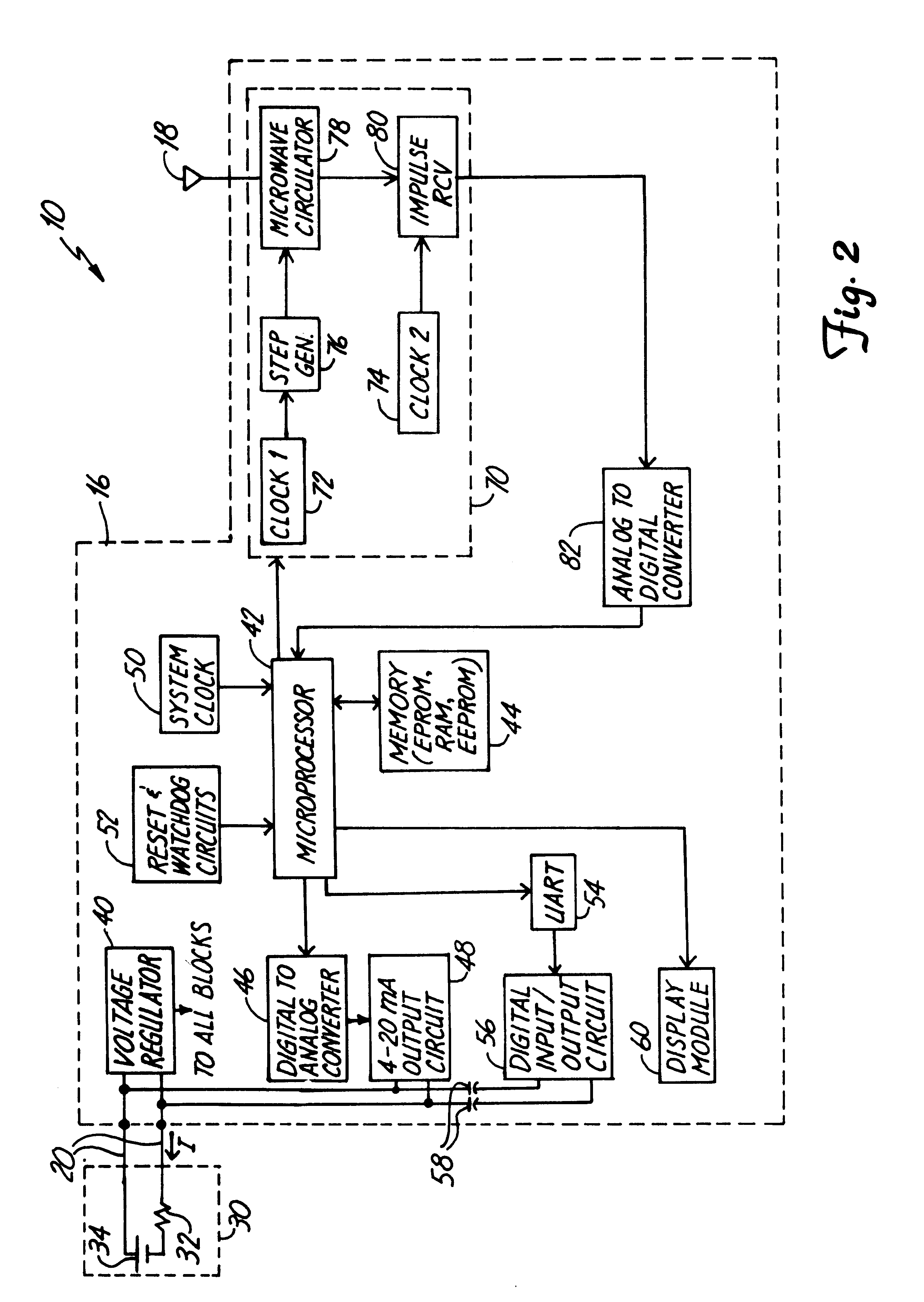 US06373261 20020416 D00002 patent us6373261 two wire level transmitter google patents bindicator wiring diagrams at gsmx.co