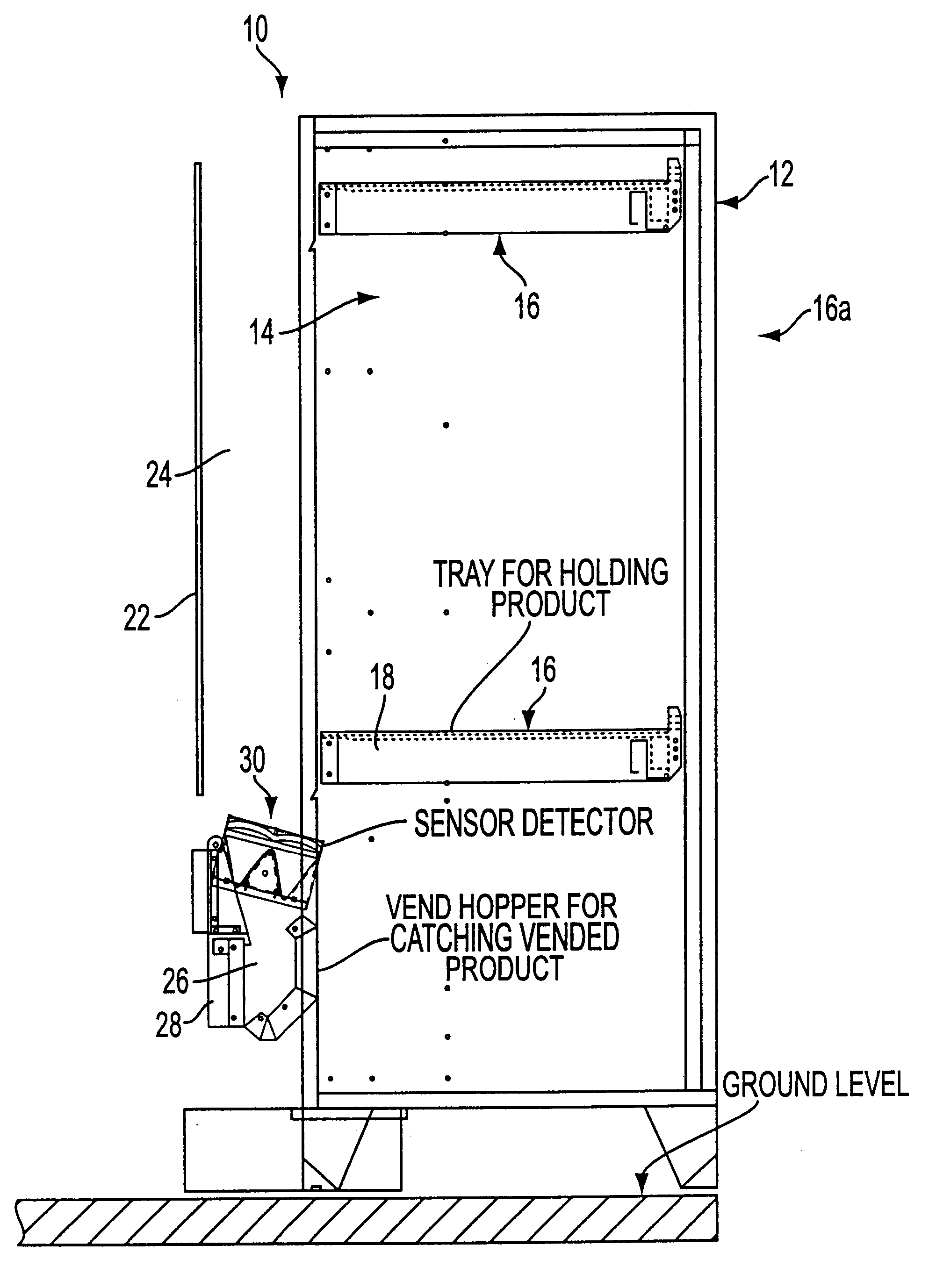 patent us6384402 optical vend sensing system for control ofVending Machine Drop Sensor Circuit #20