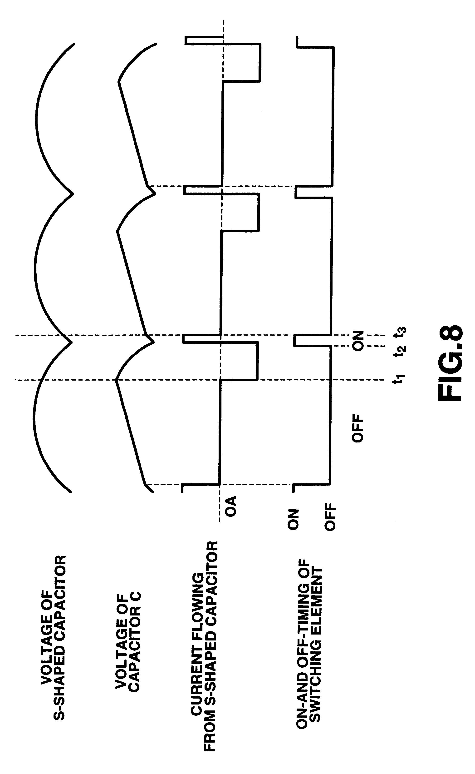 Brevet Us6384548 Horizontal Deflection Circuit Google Brevets Capacitor Timer Patent Drawing