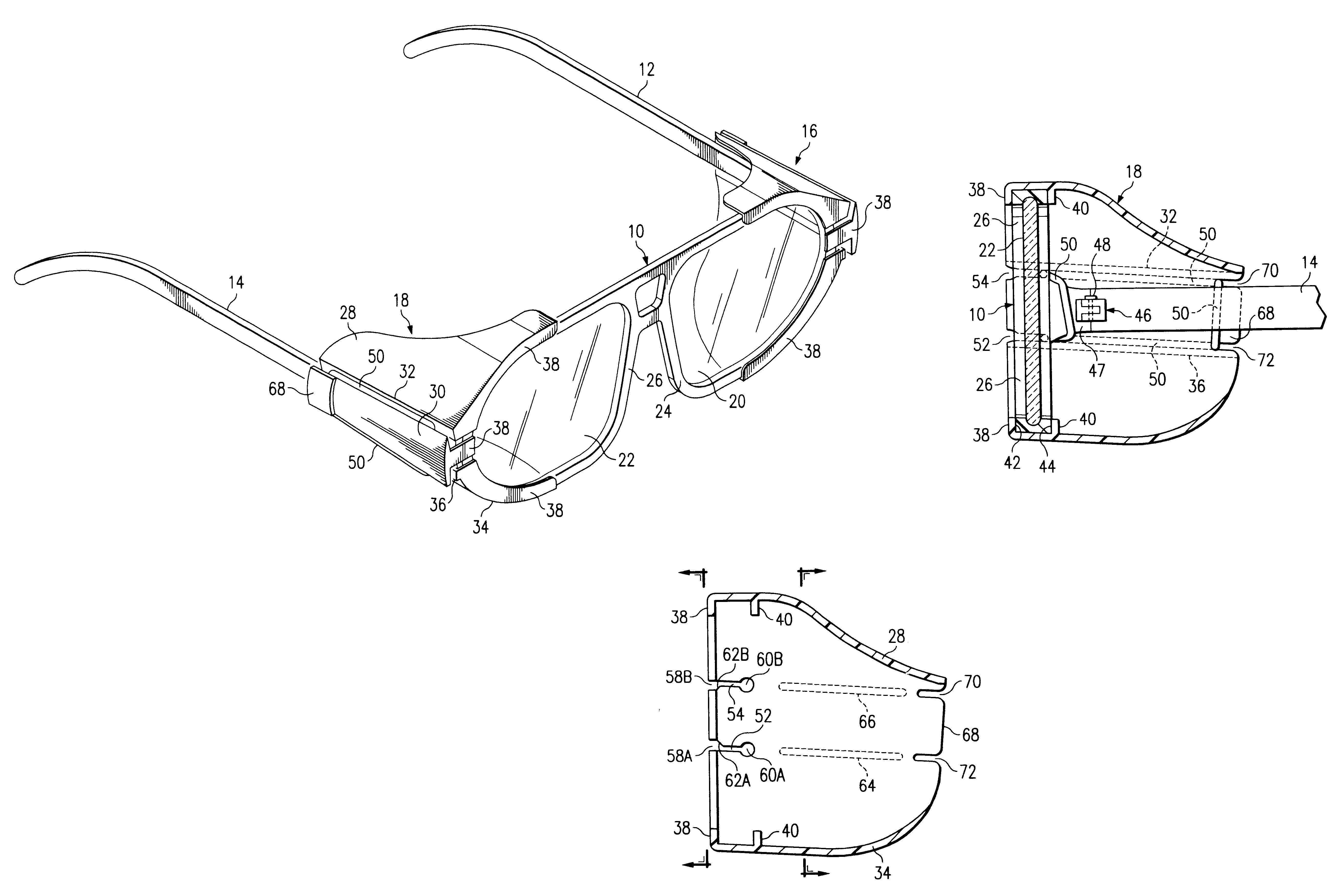 eyeglass styles  an eyeglass