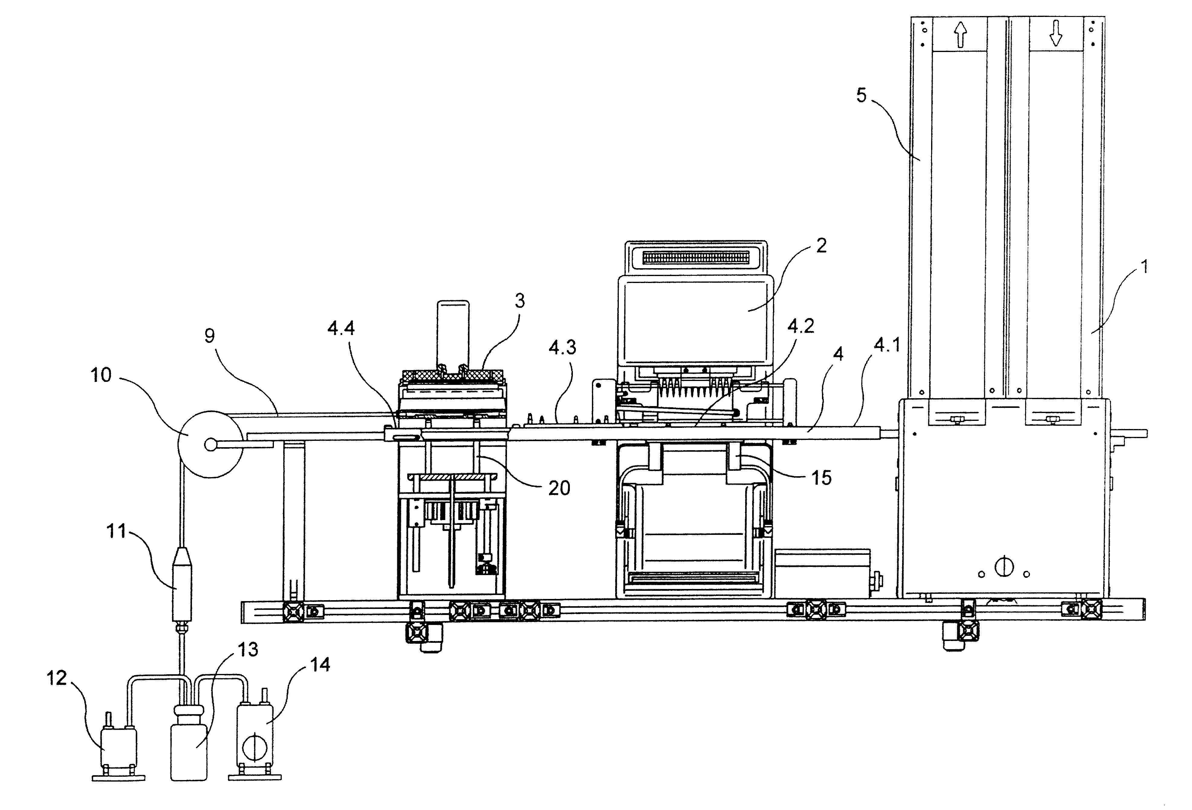 automatic pipetting machine