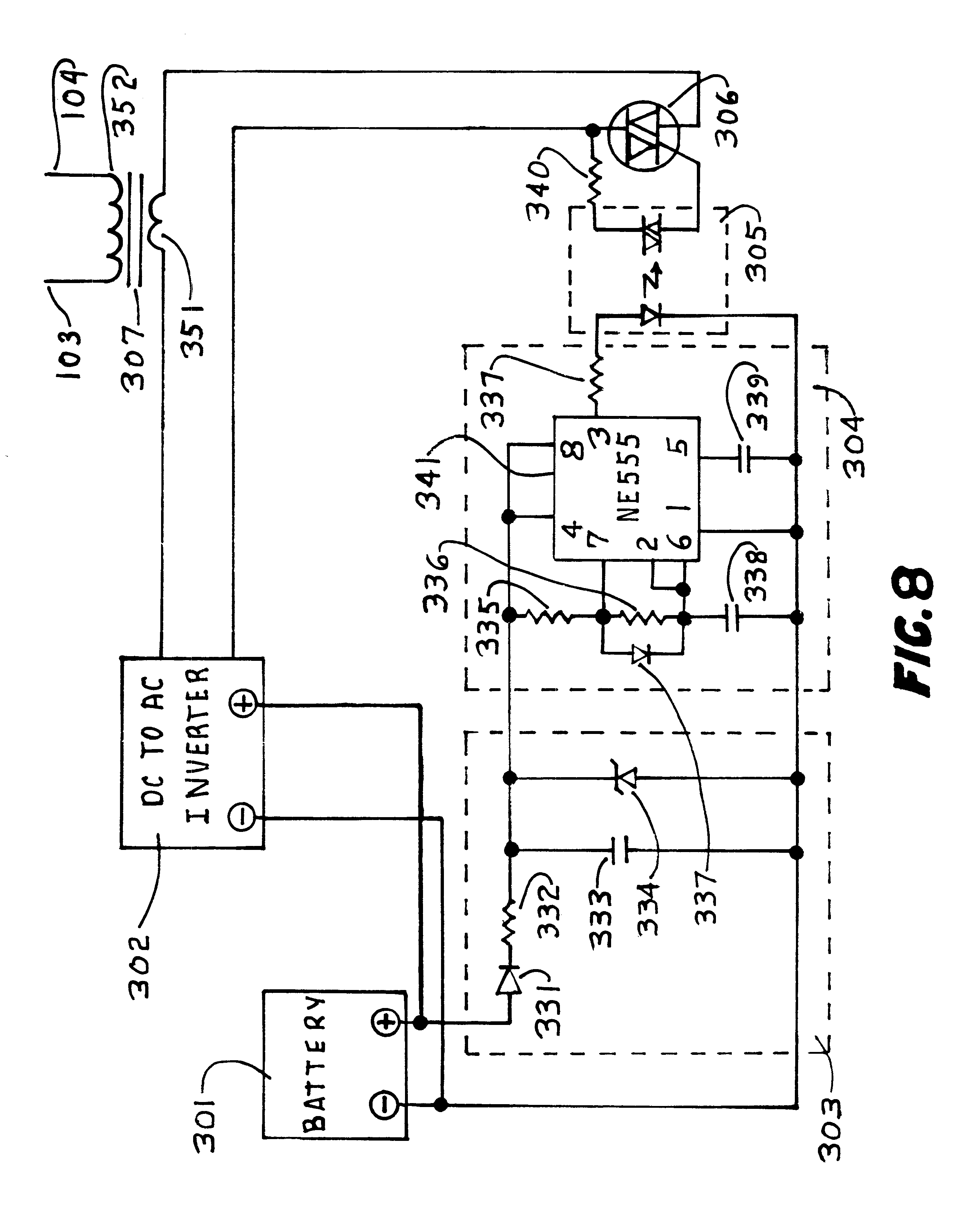 Patent Us6401383 Electronic Apparatus To Attract And Kill Flies In Capacitor How Does This Mosquito Zapper Circuit Work Electrical Drawing