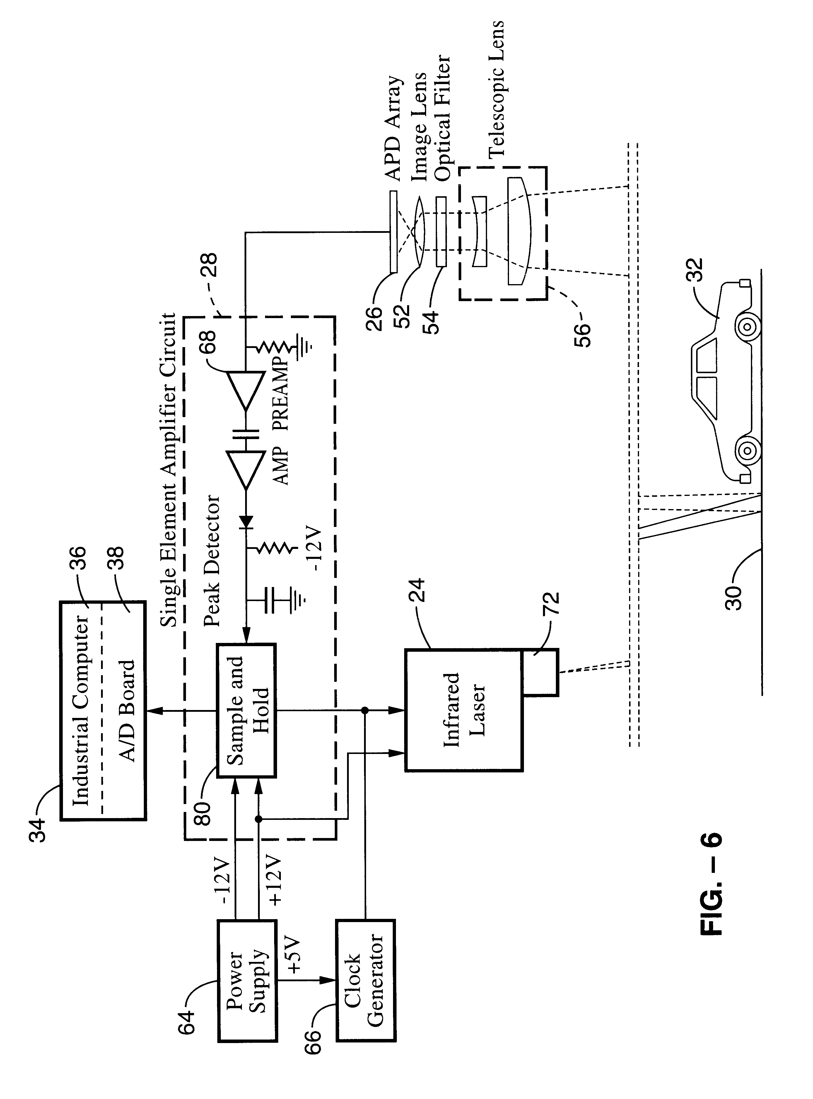 Patent Us6404506 Non Intrusive Laser Based System For Detecting Dutycycle Modulator Circuit Diagram Tradeoficcom Drawing