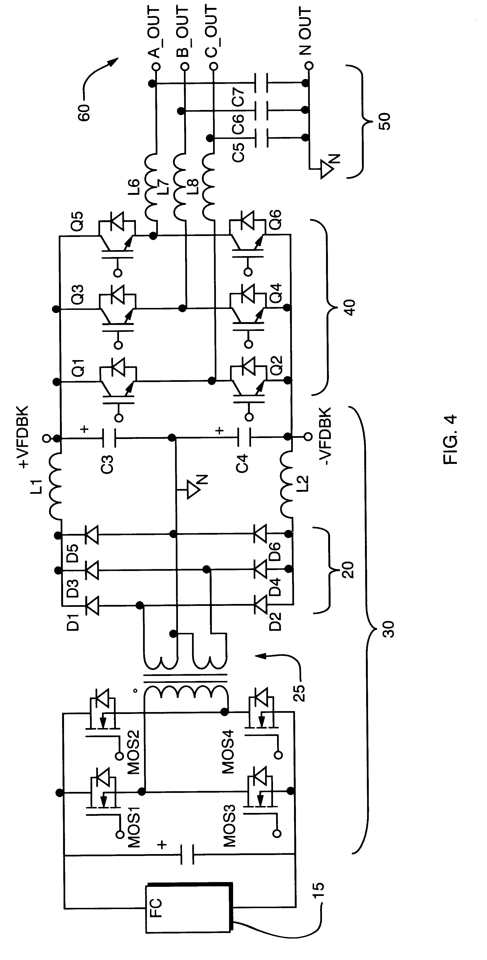 Patent US6404655 Transformerless 3 phase power inverter Google