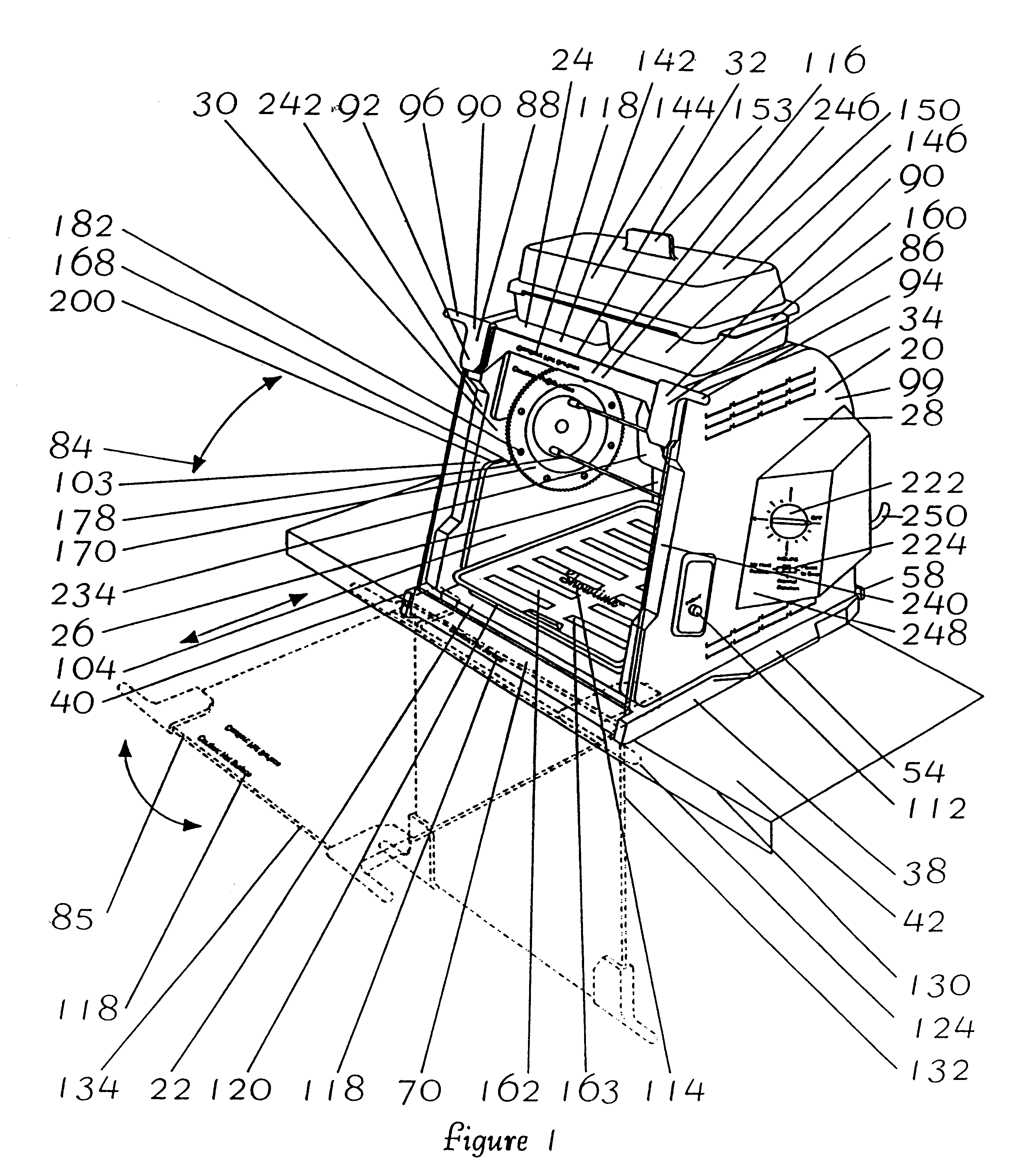 Patent Us6408742 Spit Rod Assembly For Rotisserie Oven Google Gs1000 Wiring Diagram Drawing