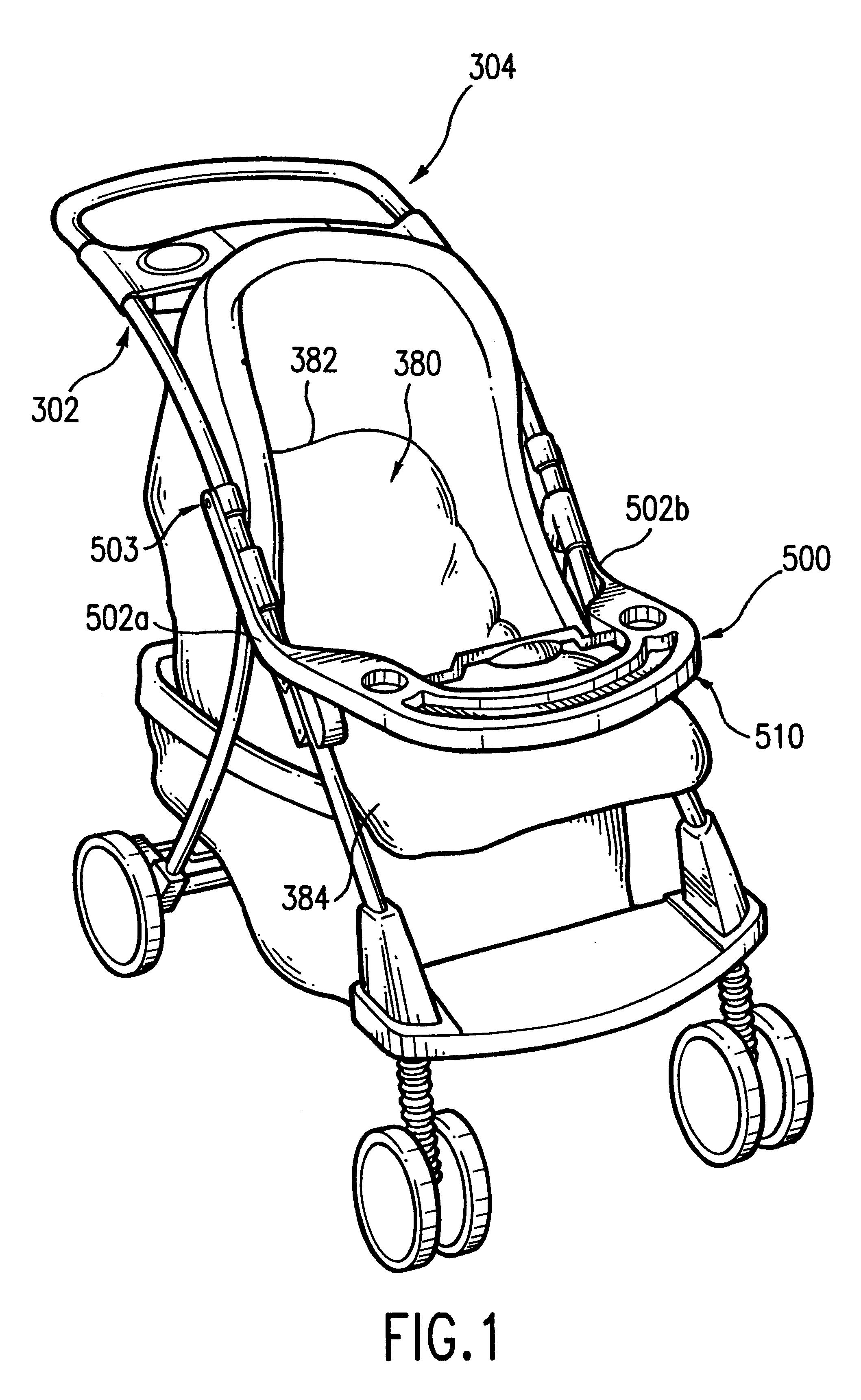 peg perego atlantico stroller manual