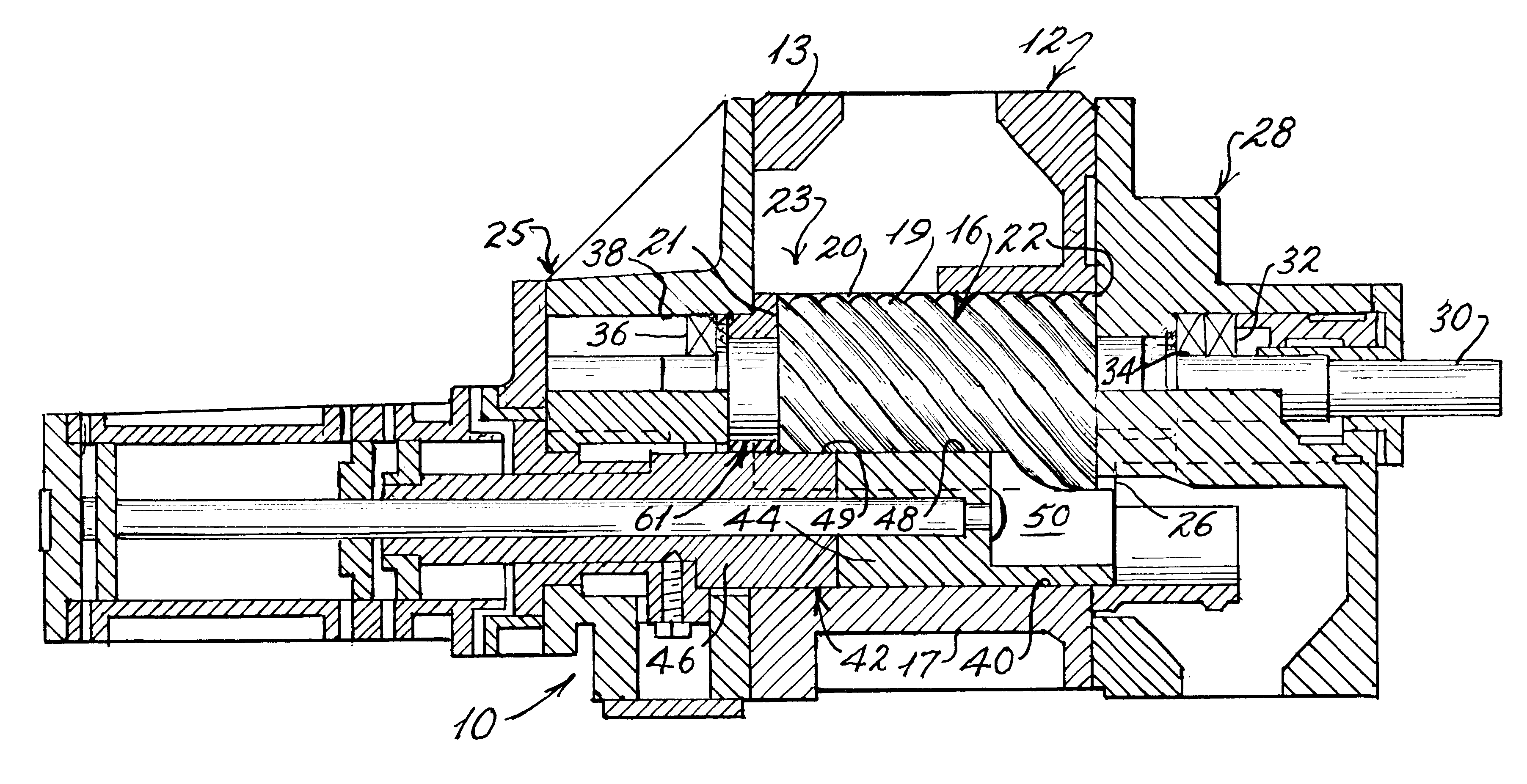 patent us rotary screw compressor slide valve and patent drawing