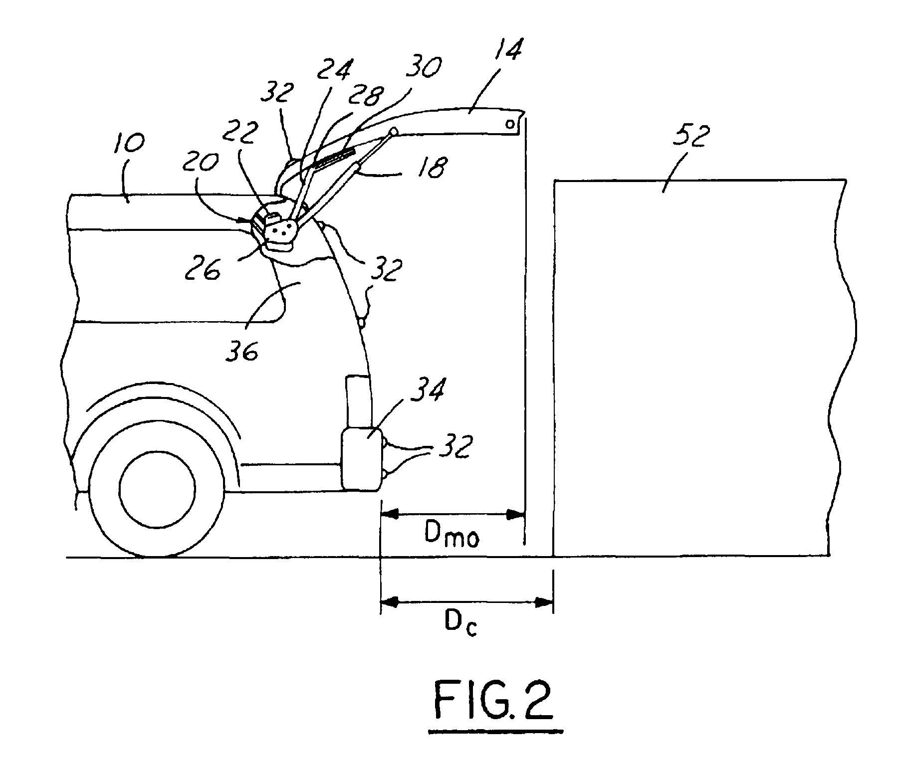 patent us6411054 - obstruction detection system for power liftgate