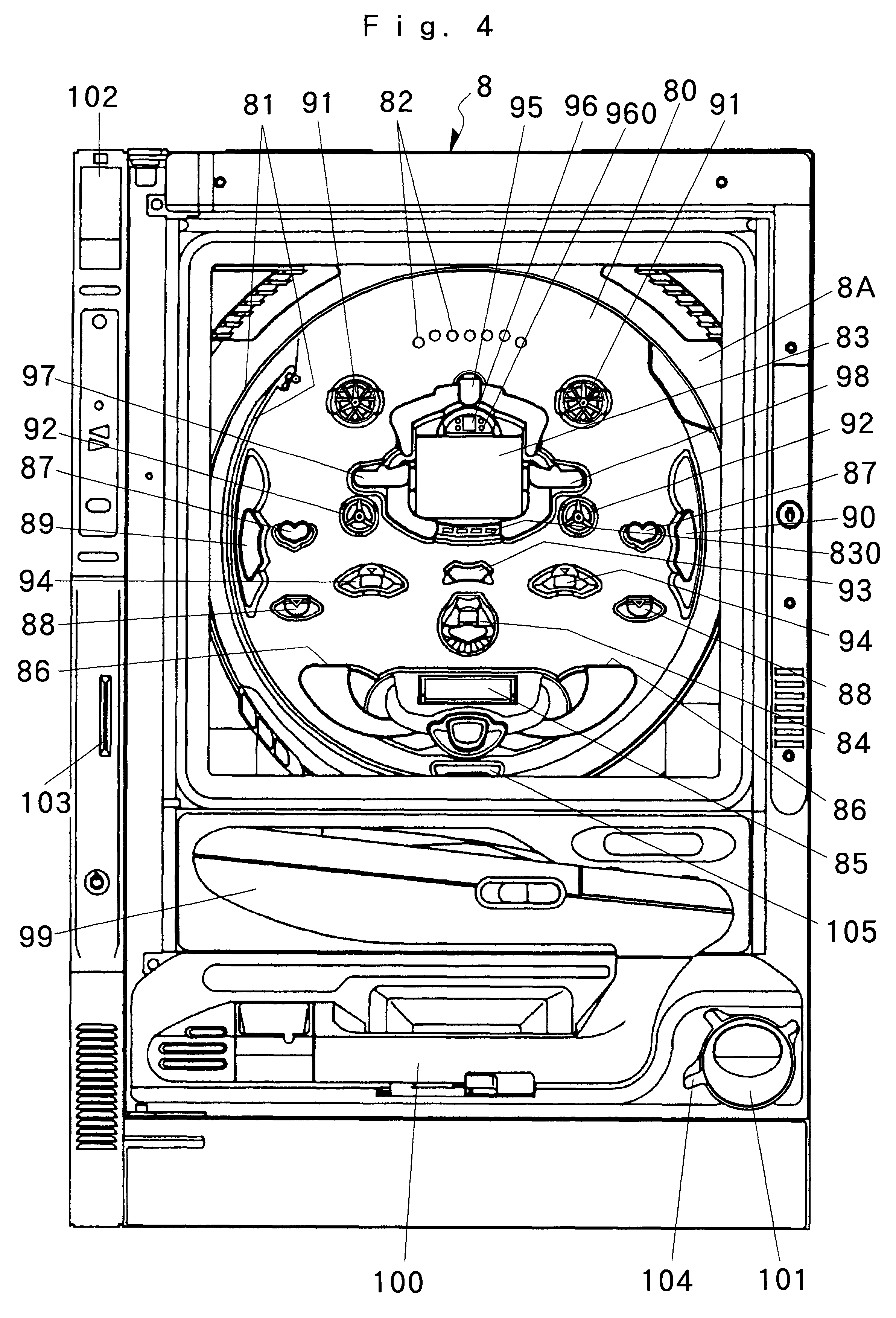 diagram of a pinball machine