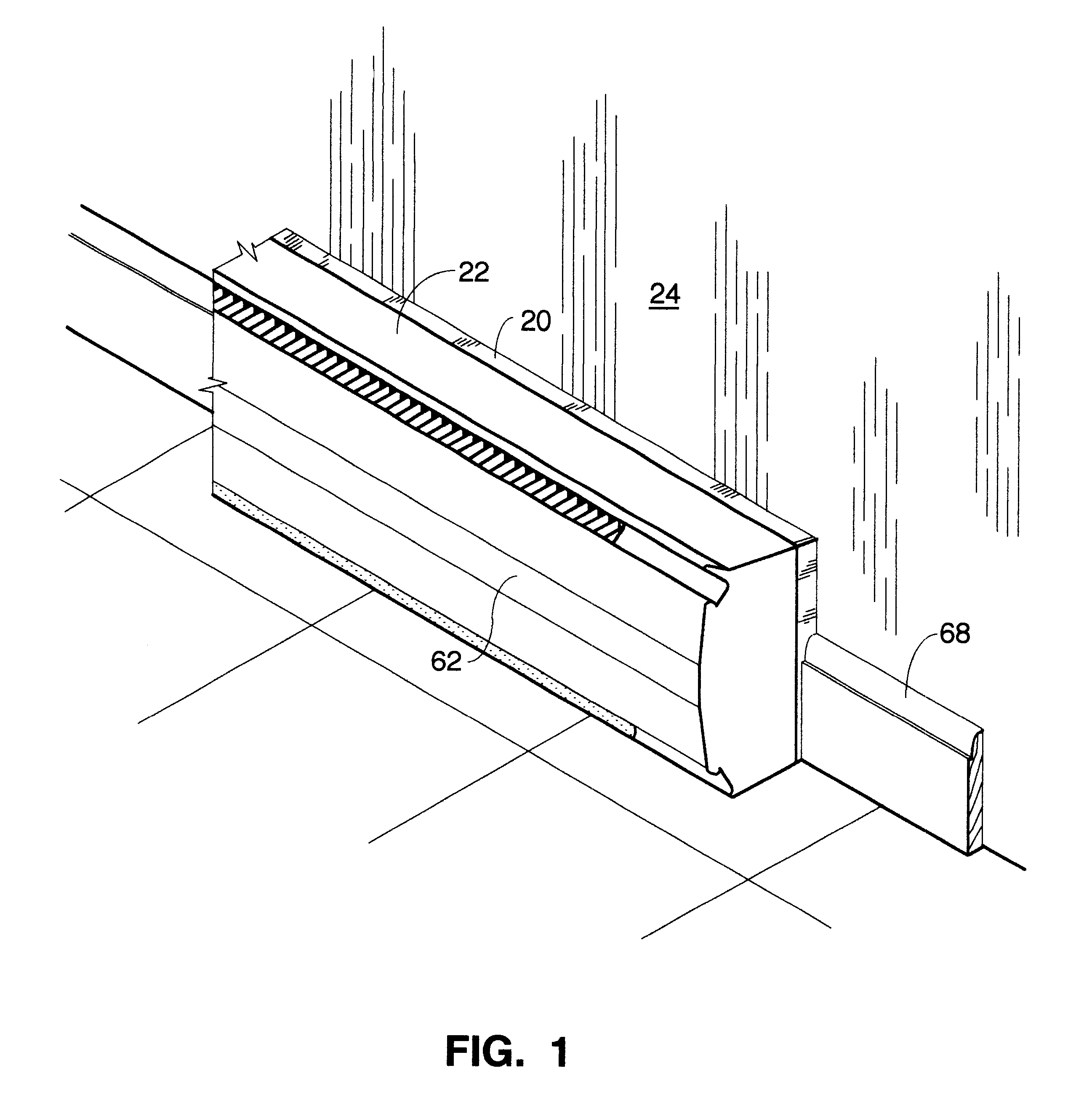 Patent Us6422477 Heat Recovery Reflector For Baseboard