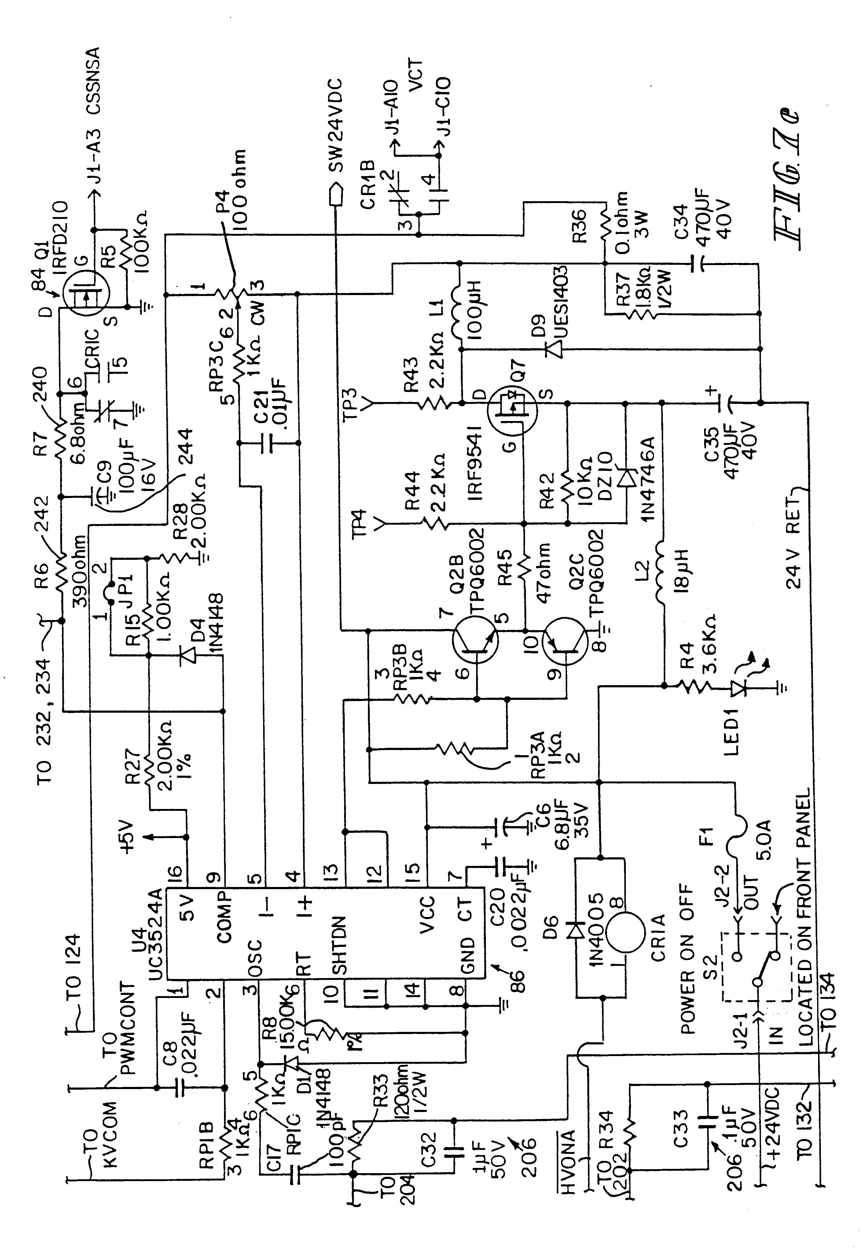 Patent US6423142 Power supply control system Google Patents – Rp1 Wagner Electric Motor Wiring Diagram