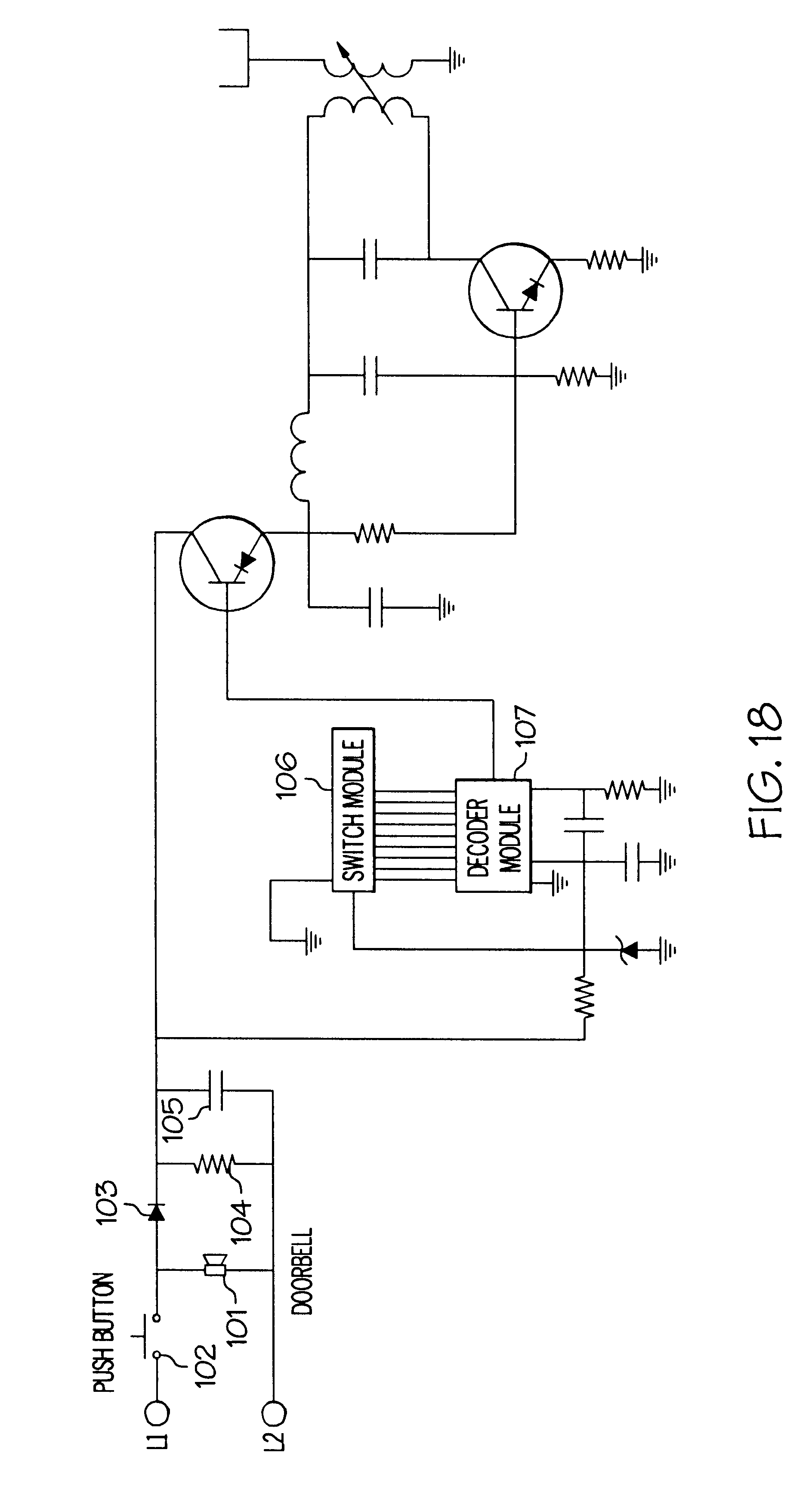 patent us6423900 active cover plate for an electrical outlet patent drawing